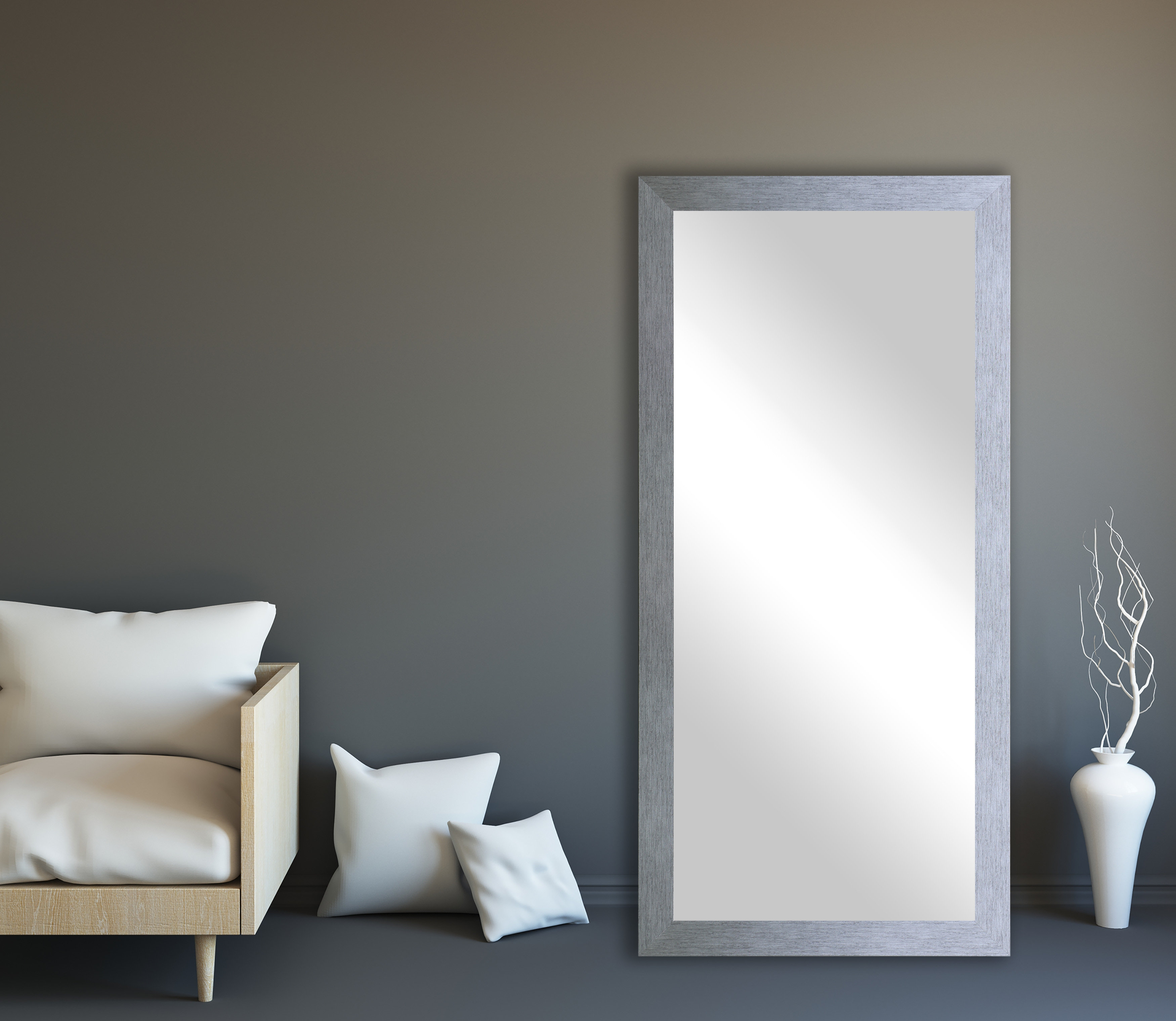 Lloyd Modern And Contemporary Full Length Mirror Pertaining To Dalessio Wide Tall Full Length Mirrors (View 11 of 30)