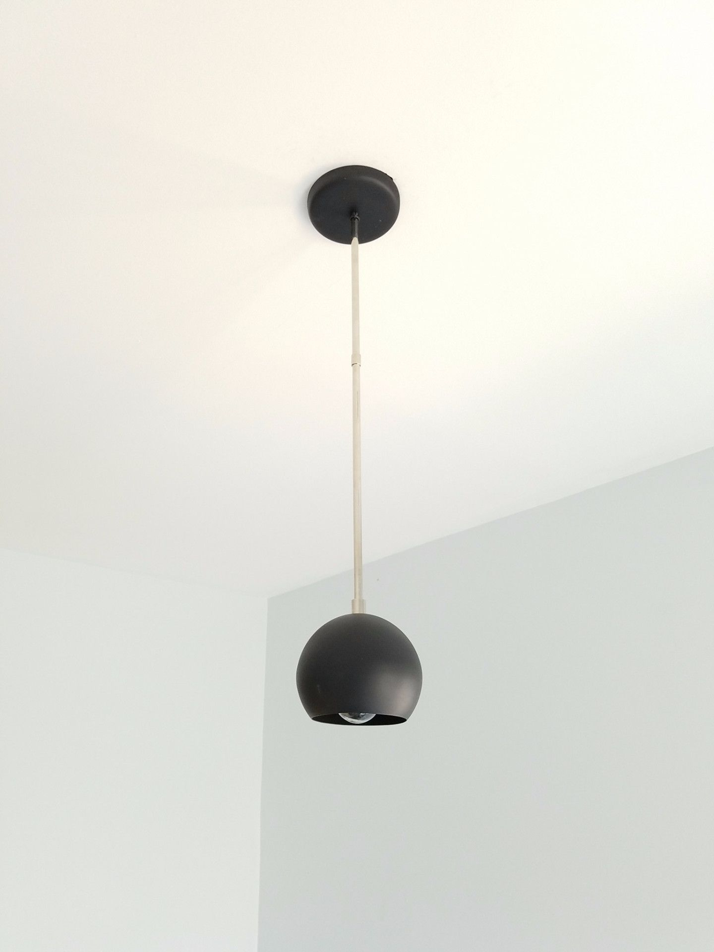 Loa Pendant In Black | Products | Pendants, Bedroom Lighting With Regard To Adriana Black 1 Light Single Dome Pendants (Image 20 of 30)
