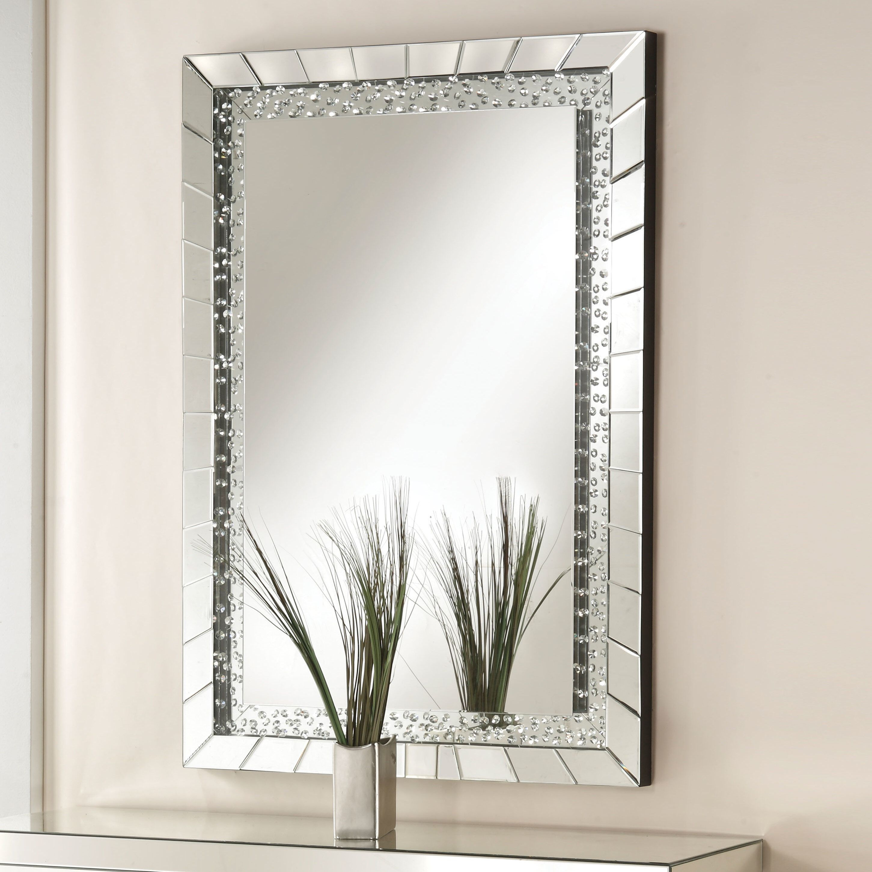 Longo Accent Mirror | Home Decor | Mirror, Decor, Accent Decor Throughout Lake Park Beveled Beaded Accent Wall Mirrors (View 14 of 30)