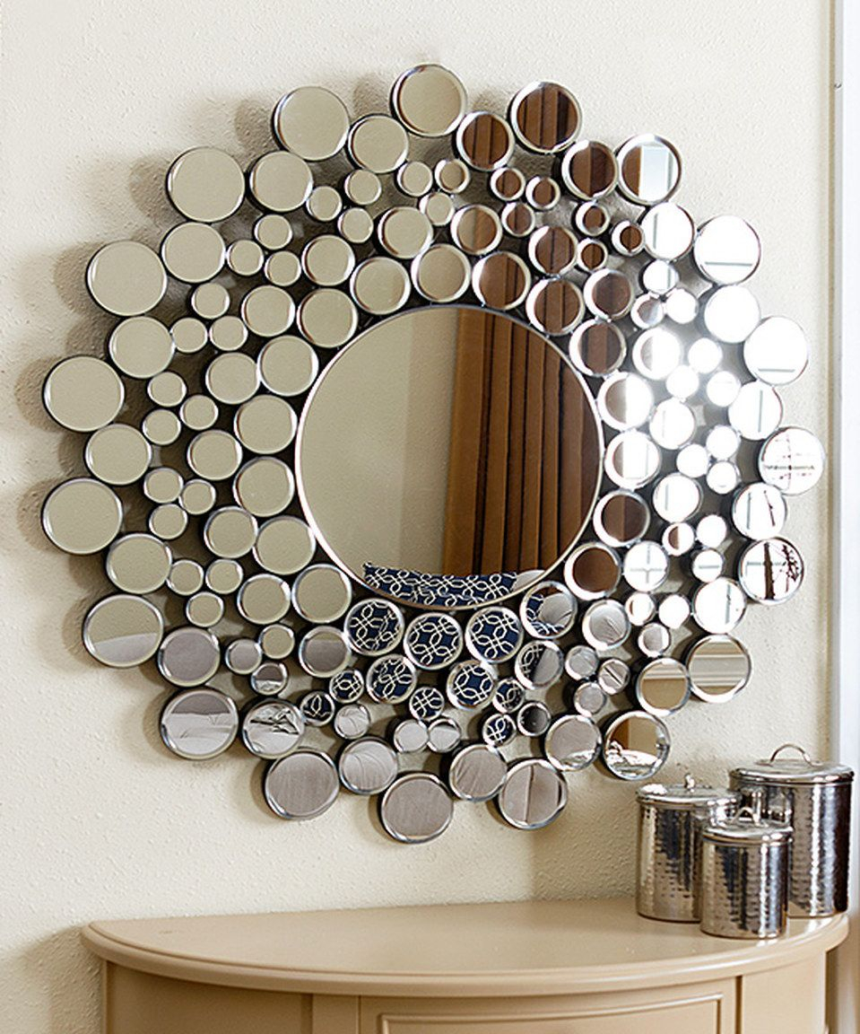 Look At This #zulilyfind! Buchon Round Bubble Wall Mirror With Bem Decorative Wall Mirrors (View 17 of 30)