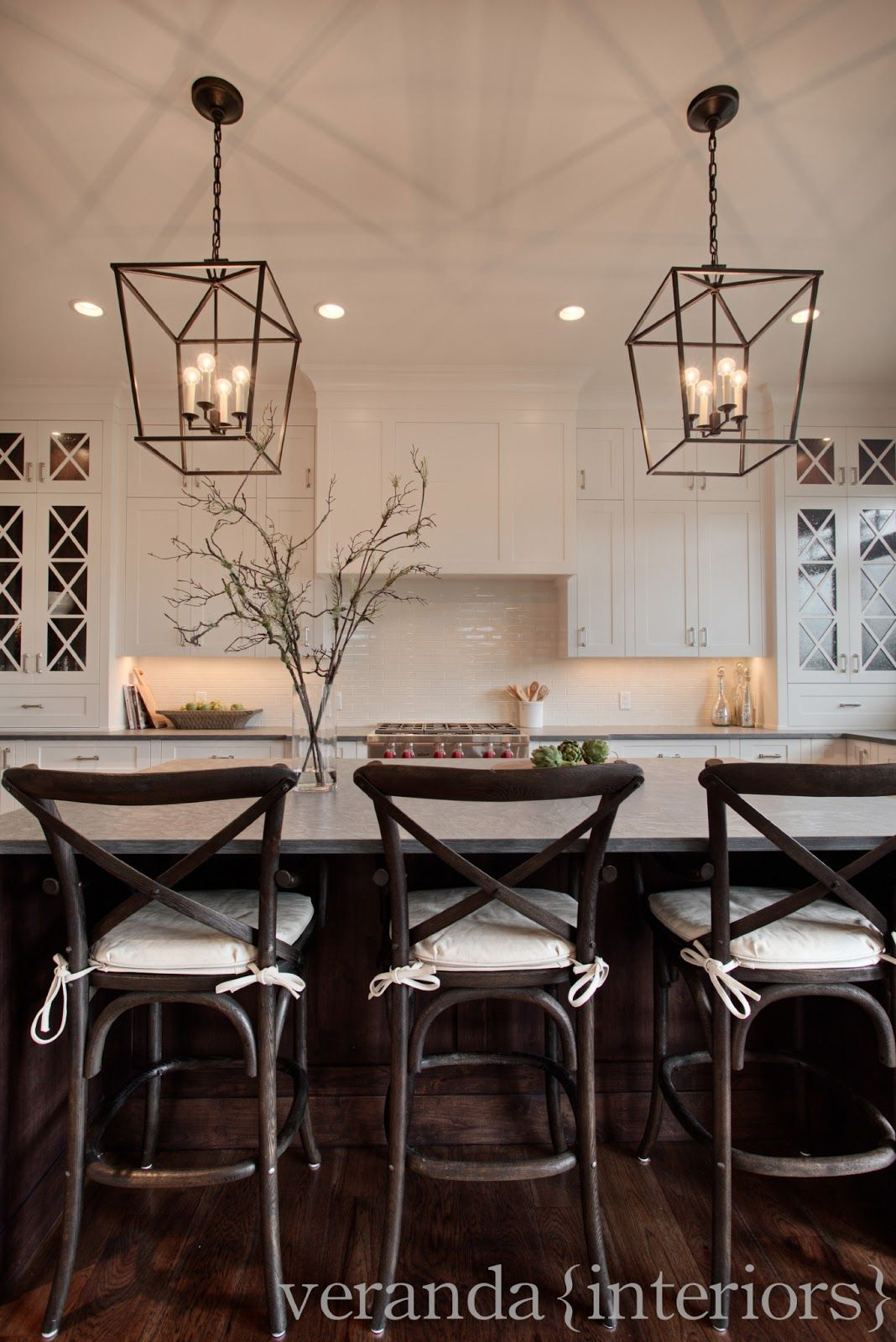 Love And Bellinis: Pottery Barn's Aaron Barstool Vs intended for Carmen 6-Light Kitchen Island Linear Pendants (Image 25 of 30)