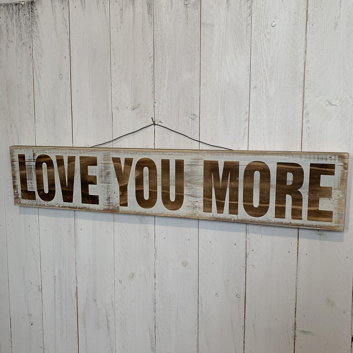 """""""love You More"""" Wall Decor regarding 'love You More' Wood Wall Decor (Image 1 of 30)"""