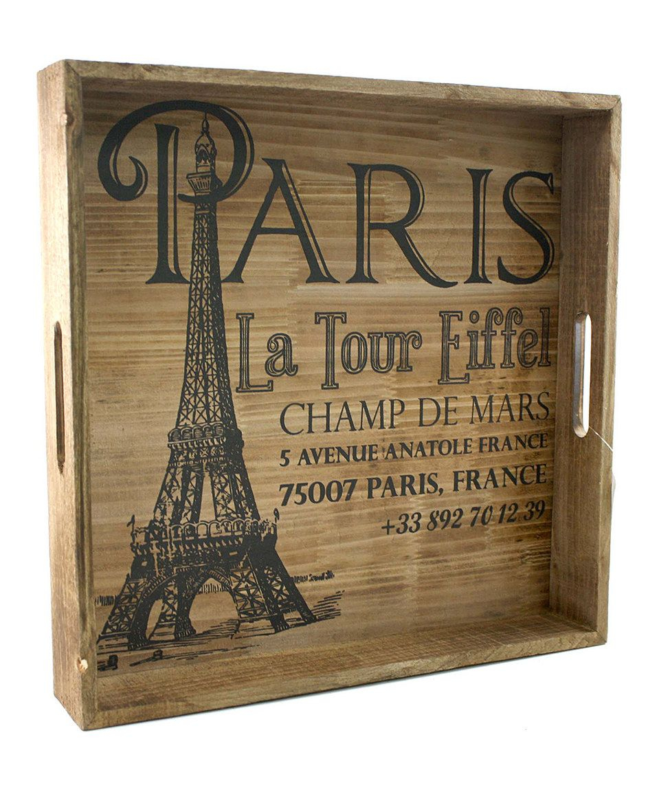 Loving This 'paris La Tour Eiffel' Wall Art On #zulily Inside Latour Wall Decor (View 4 of 30)