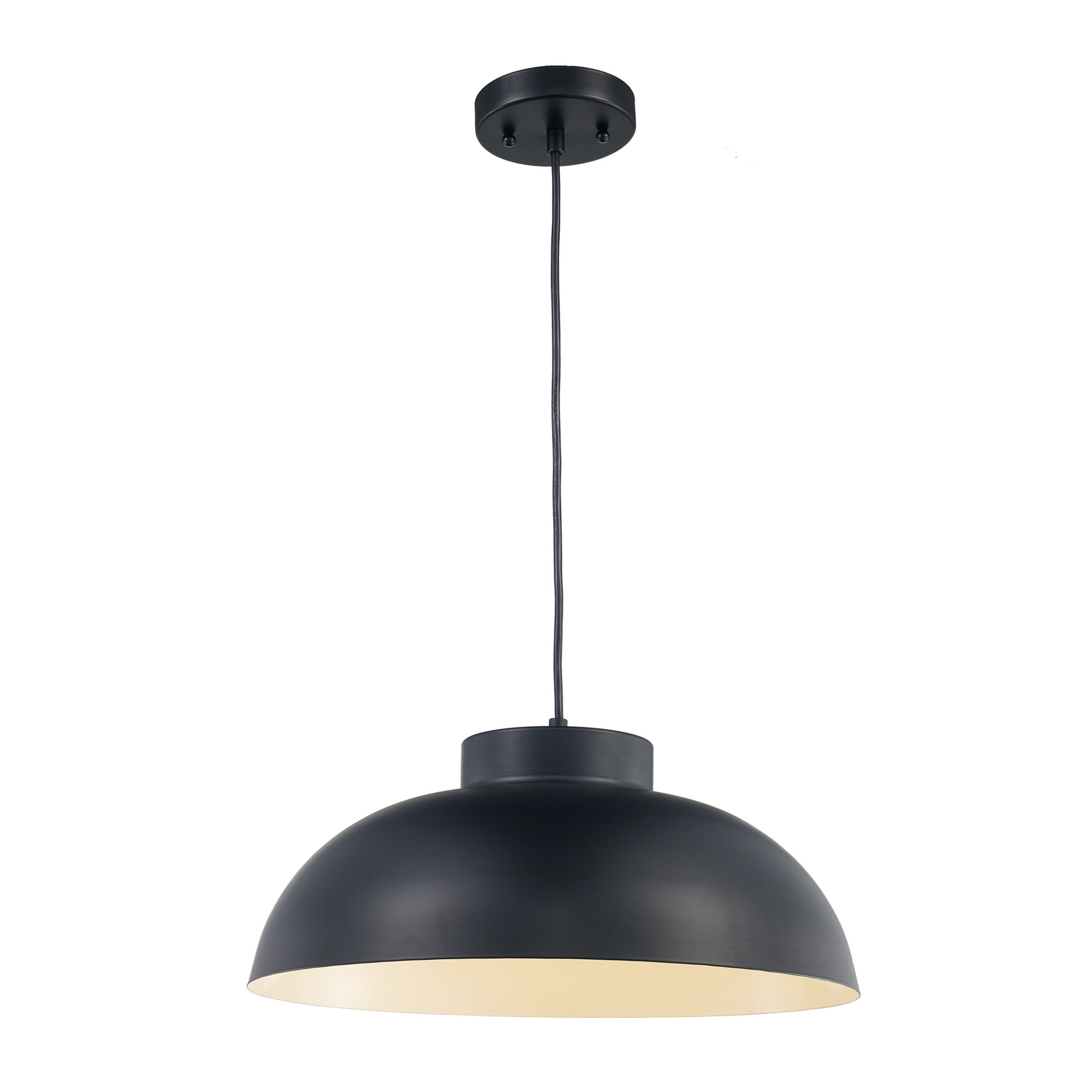 Lowes 1-Light Single Dome Pendant with regard to Conover 1-Light Dome Pendants (Image 19 of 30)