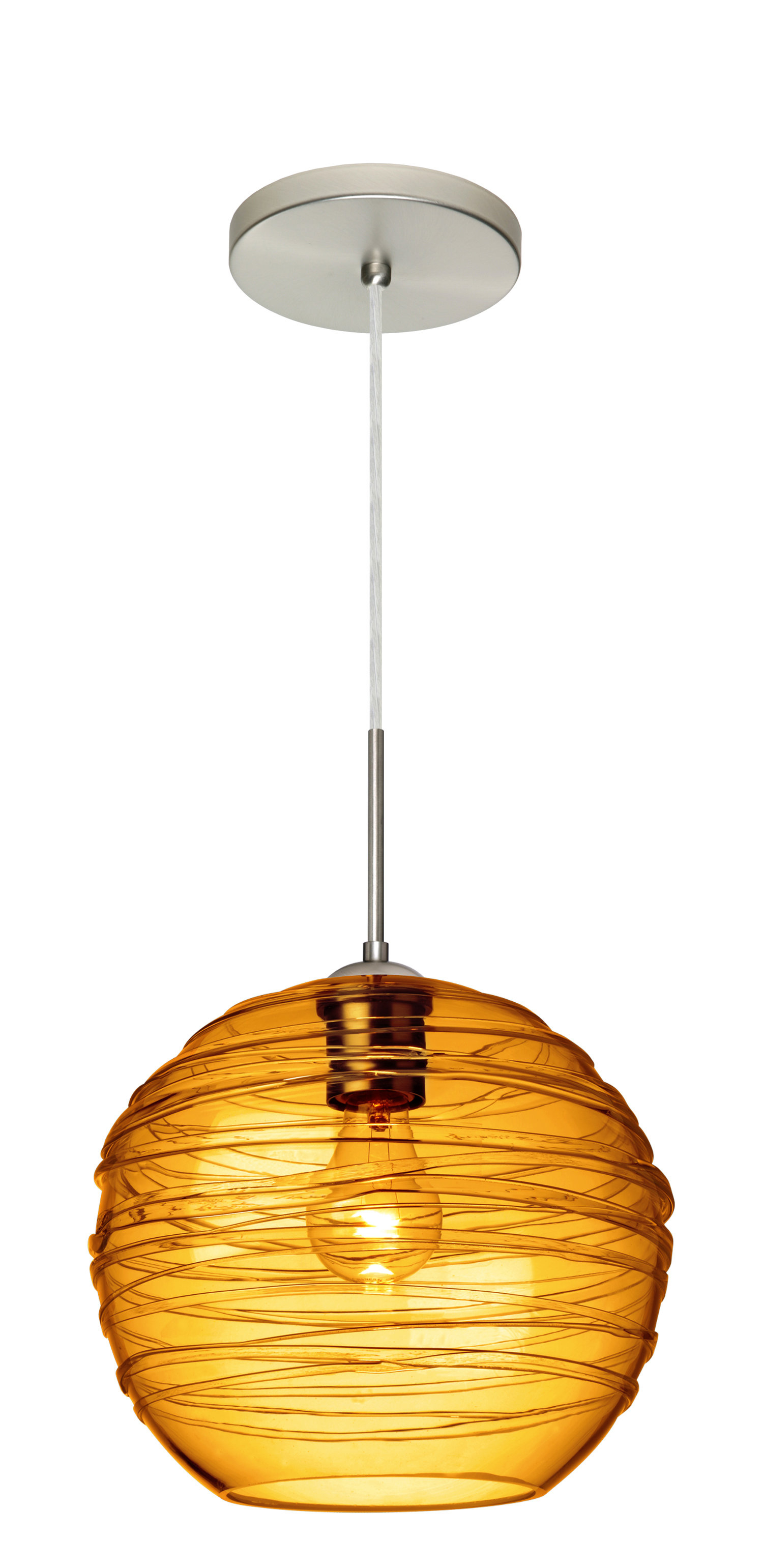 Lukens 1-Light Globe Pendant throughout Melora 1-Light Single Geometric Pendants (Image 16 of 30)