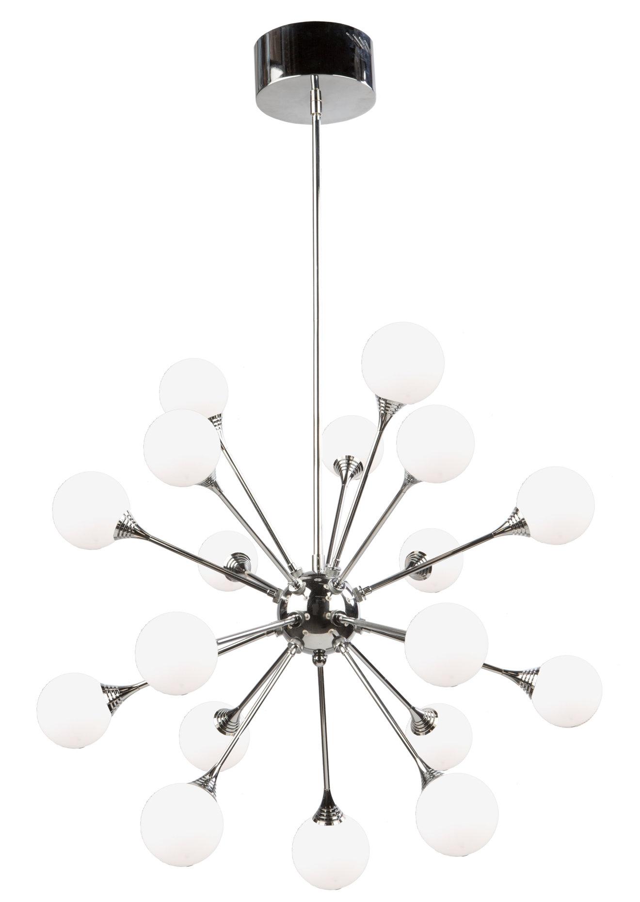 Luna 18-Light Led Sputnik Chandelier for Silvia 6-Light Sputnik Chandeliers (Image 15 of 30)
