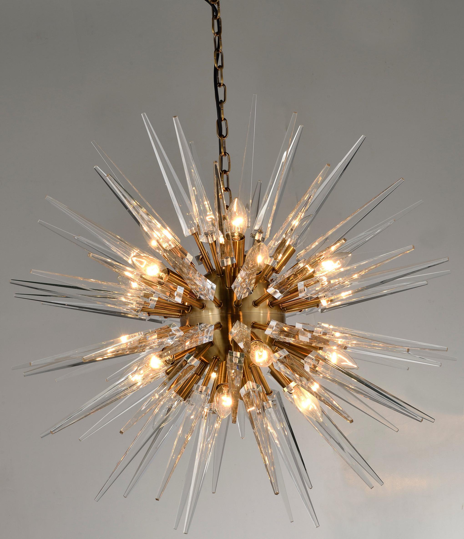 Lundeen 20 Light Sputnik Chandelier Inside Nelly 12 Light Sputnik Chandeliers (View 18 of 30)