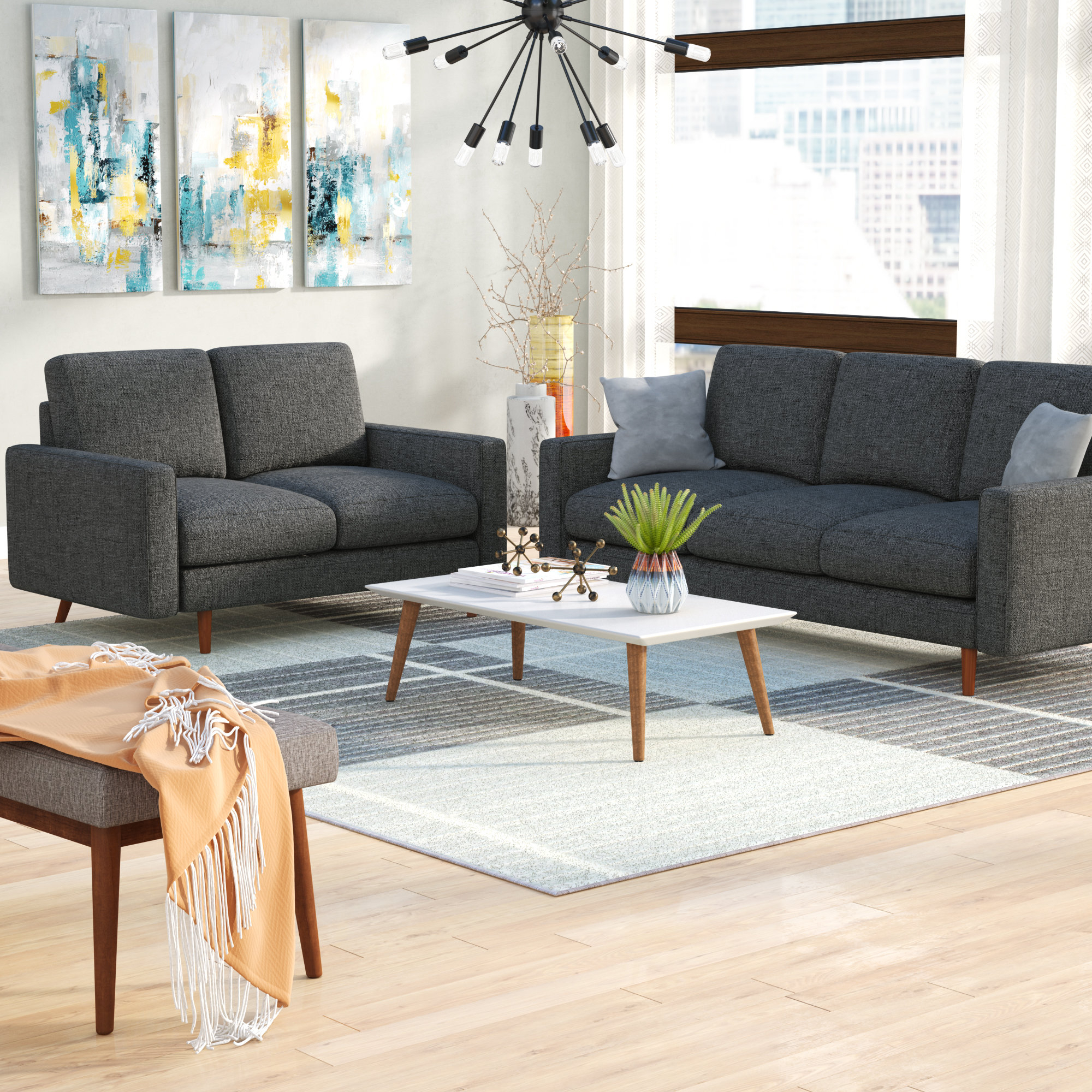 Macsen 2 Piece Living Room Set intended for 3 Piece Wall Decor Sets By Wrought Studio (Image 24 of 30)