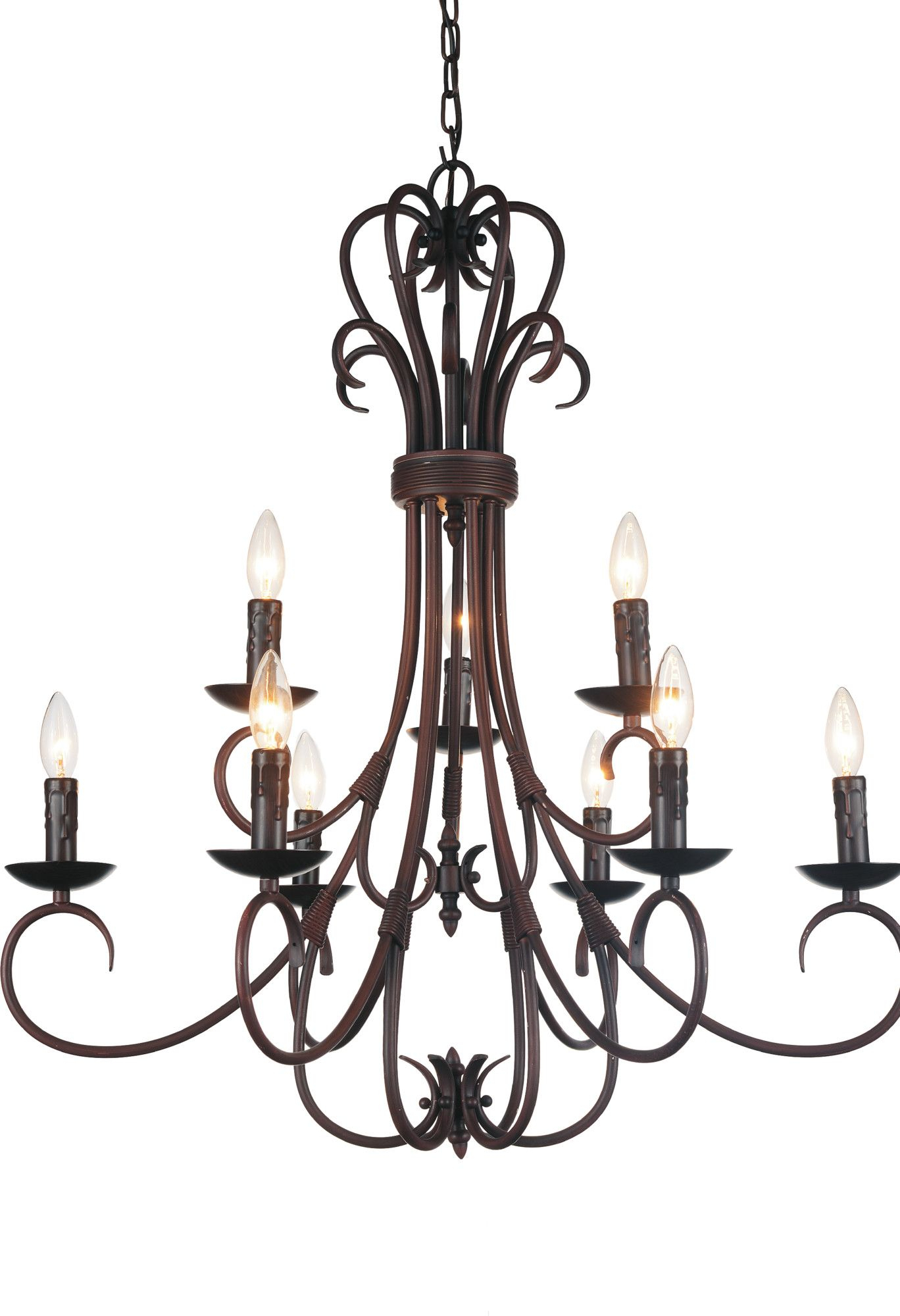 Maddy 6-Light Foyer Lantern Pendant | Chandelier regarding Camilla 9-Light Candle Style Chandeliers (Image 21 of 30)