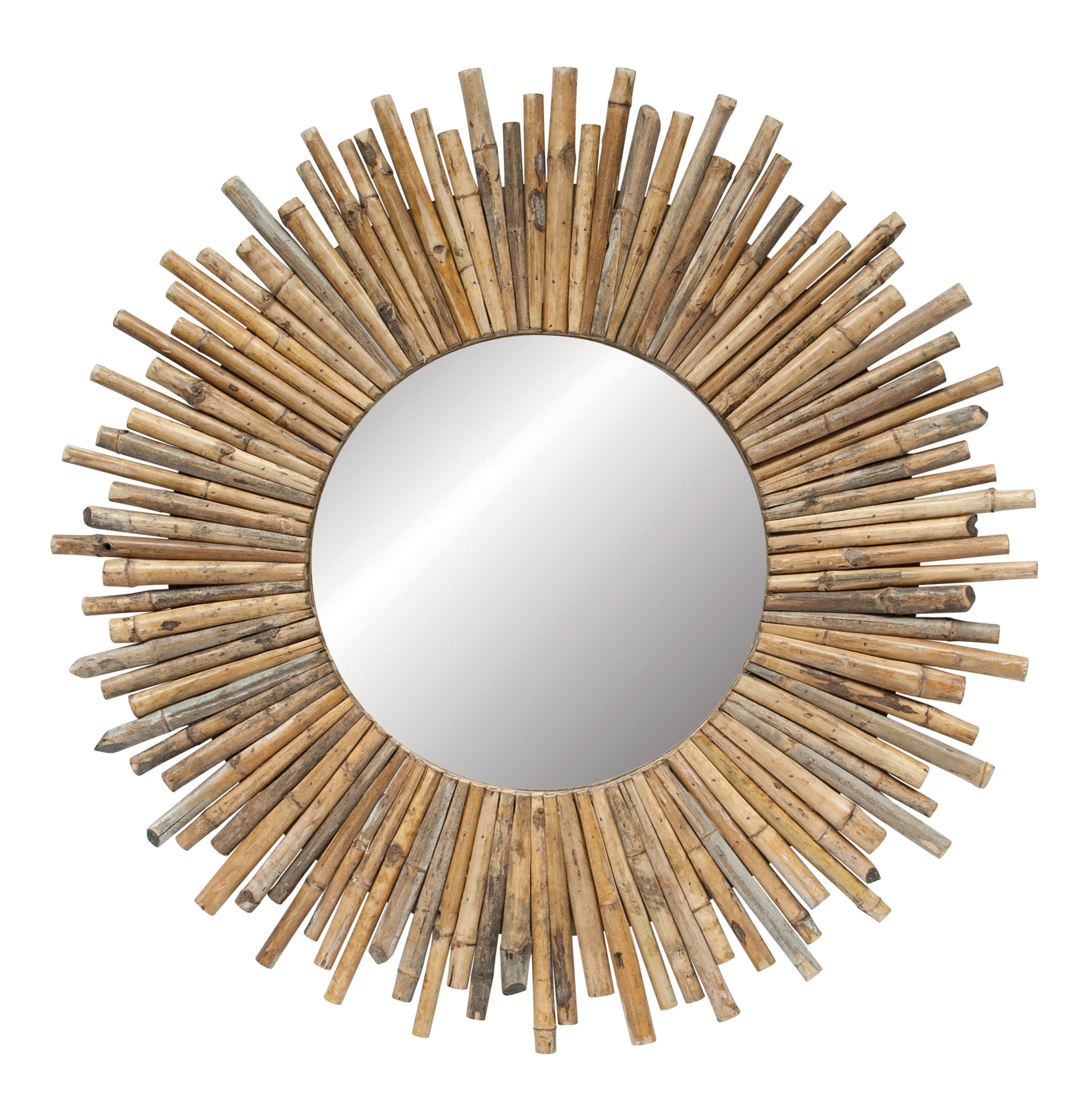 Madilynn Eclectic Accent Mirror In Alie Traditional Beveled Distressed Accent Mirrors (Image 22 of 30)