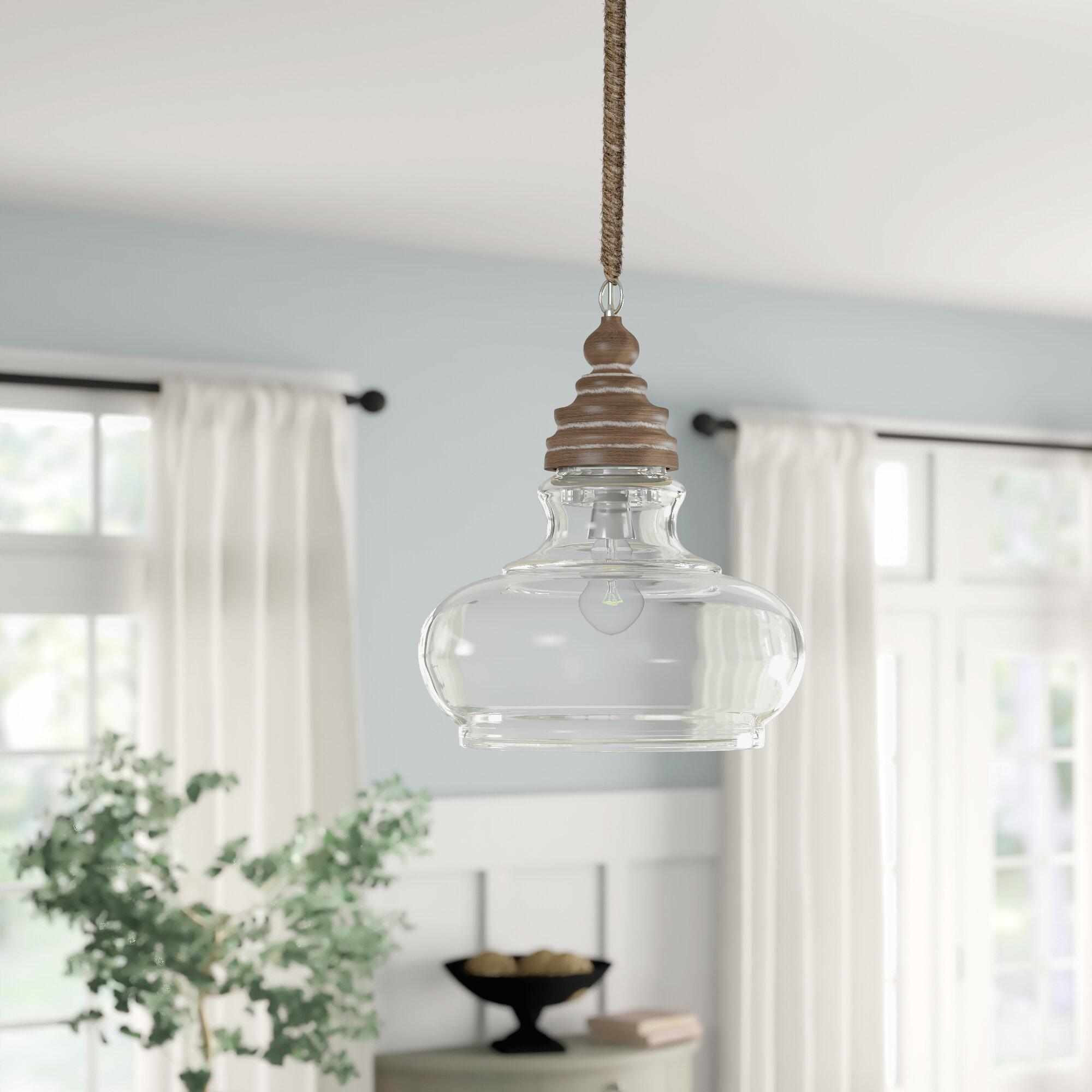 Maelle 1 Light Bell Pendant Throughout Akakios 1 Light Single Bell Pendants (Image 18 of 30)