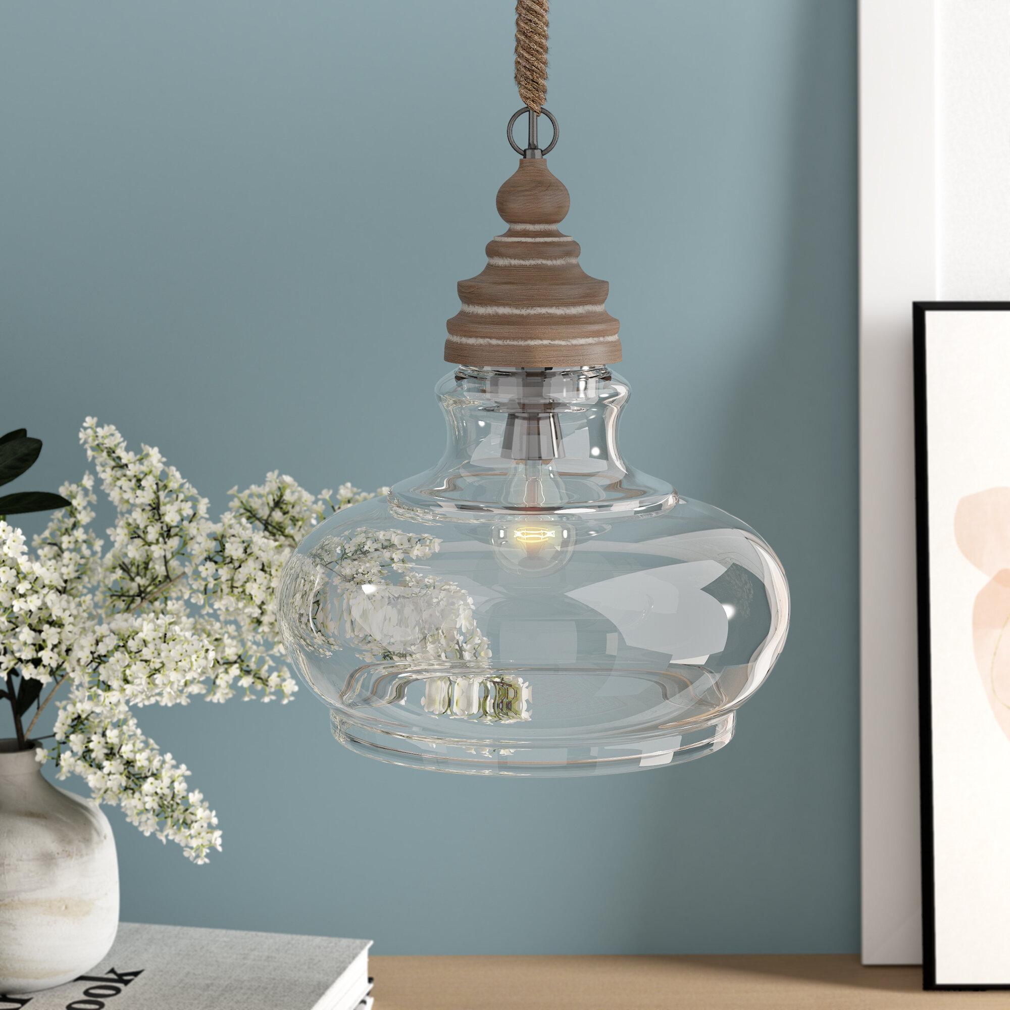 Maelle 1 Light Single Bell Pendant In 1 Light Single Bell Pendants (View 18 of 30)