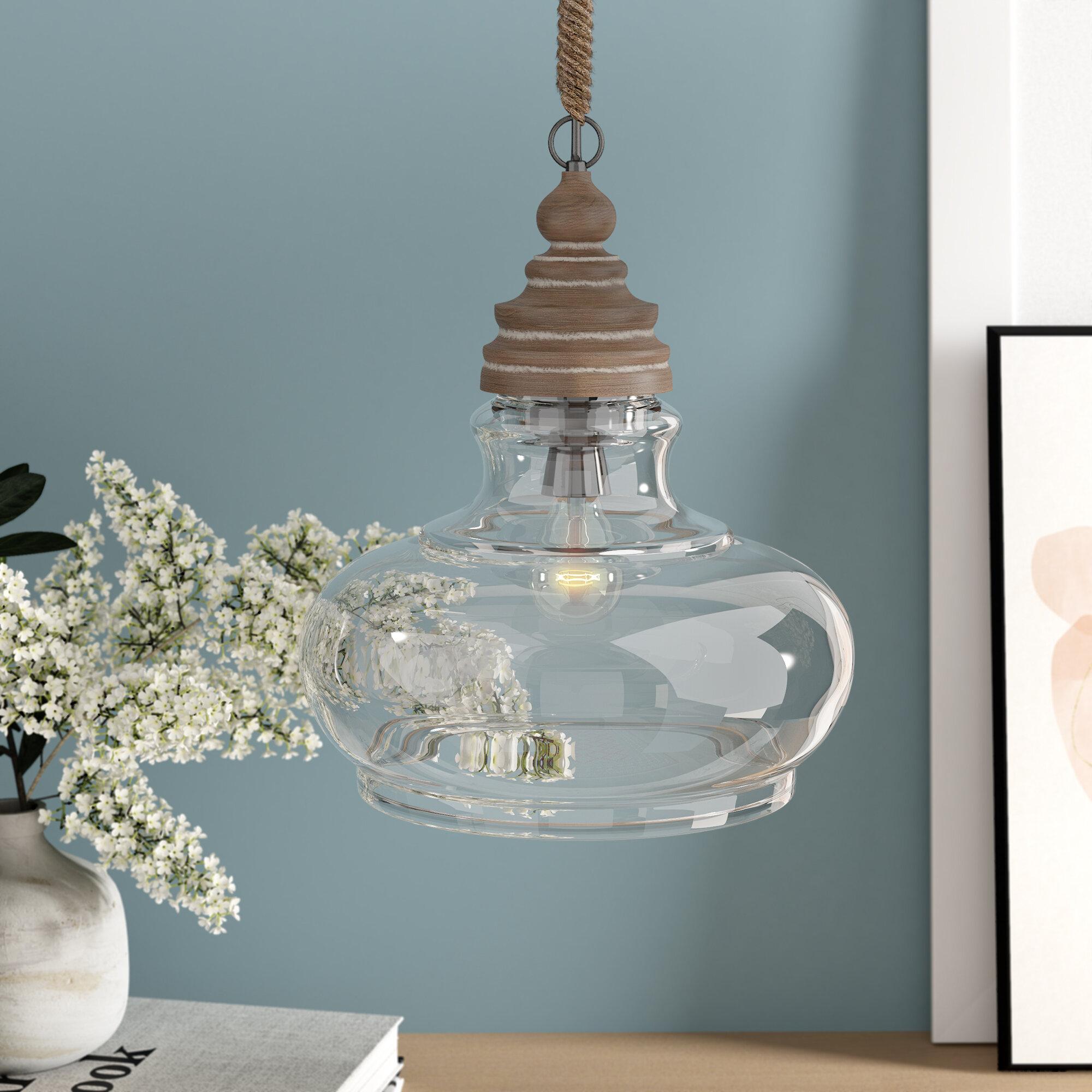 Maelle 1 Light Single Bell Pendant With Akakios 1 Light Single Bell Pendants (Image 20 of 30)