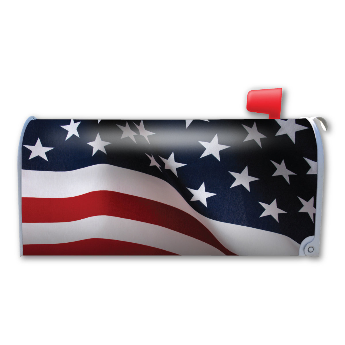 Mailbox Accessories You'll Love In 2019 | Wayfair Within American Flag 3D Wall Decor (Image 23 of 30)