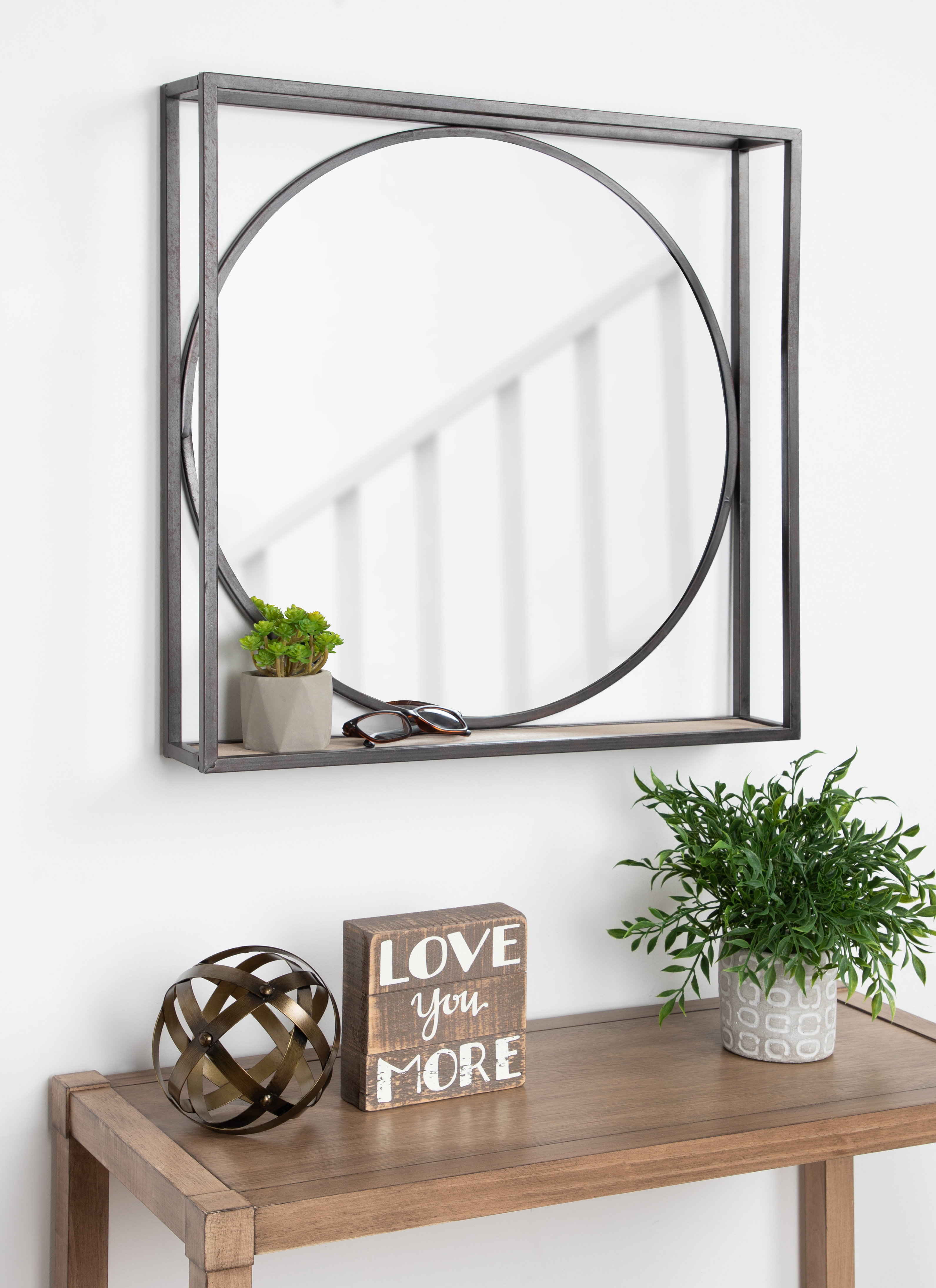Mailiah Accent Mirror With Brynn Accent Mirrors (View 7 of 30)