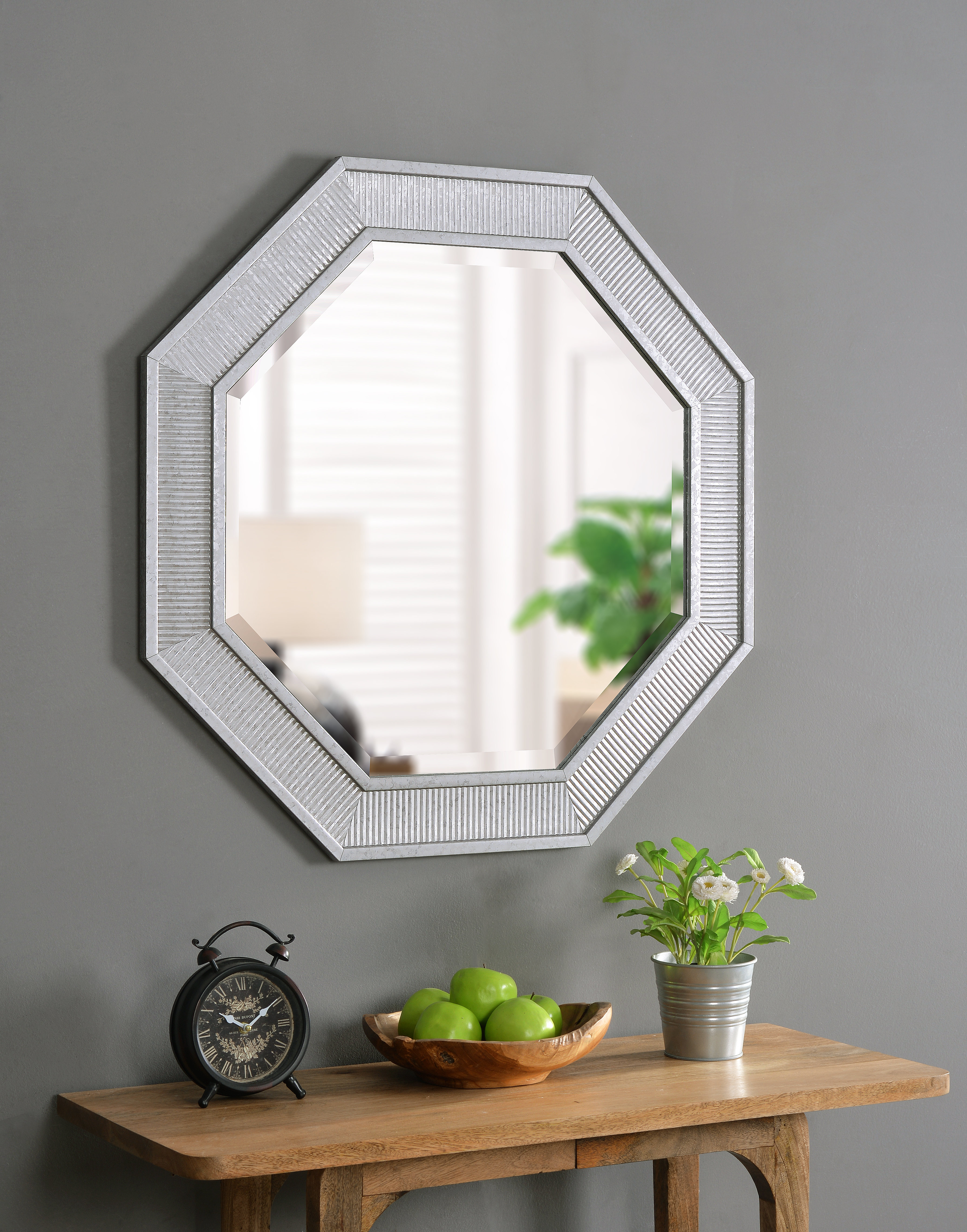 Malone Accent Mirror Intended For Rings Wall Decor By Wrought Studio (View 20 of 30)