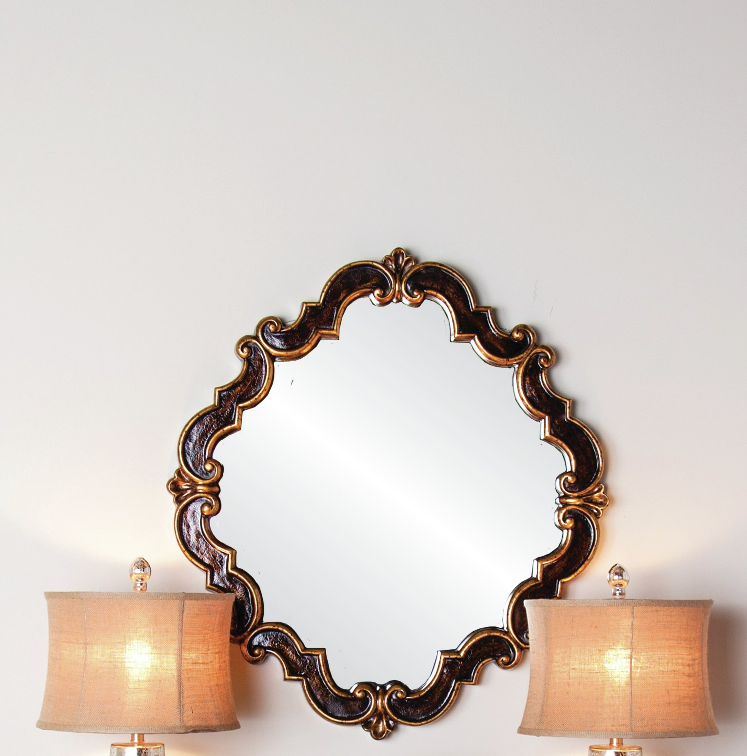 Mandurah Medallion Accent Mirror Intended For Medallion Accent Mirrors (View 17 of 30)
