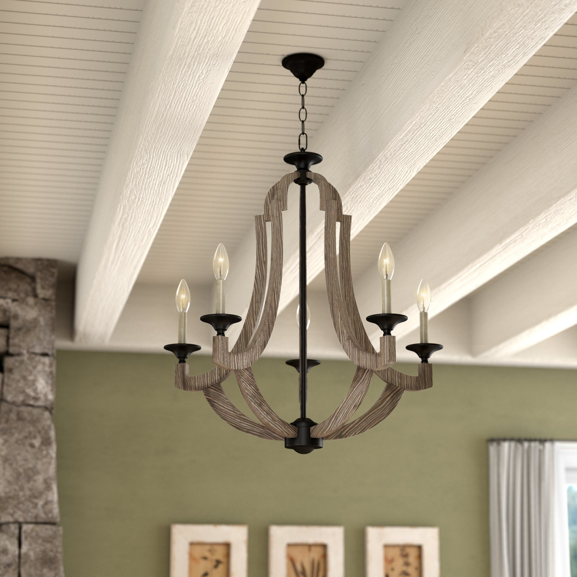 Marcoux 5 Light Empire Chandelier For Kenna 5 Light Empire Chandeliers (View 4 of 30)
