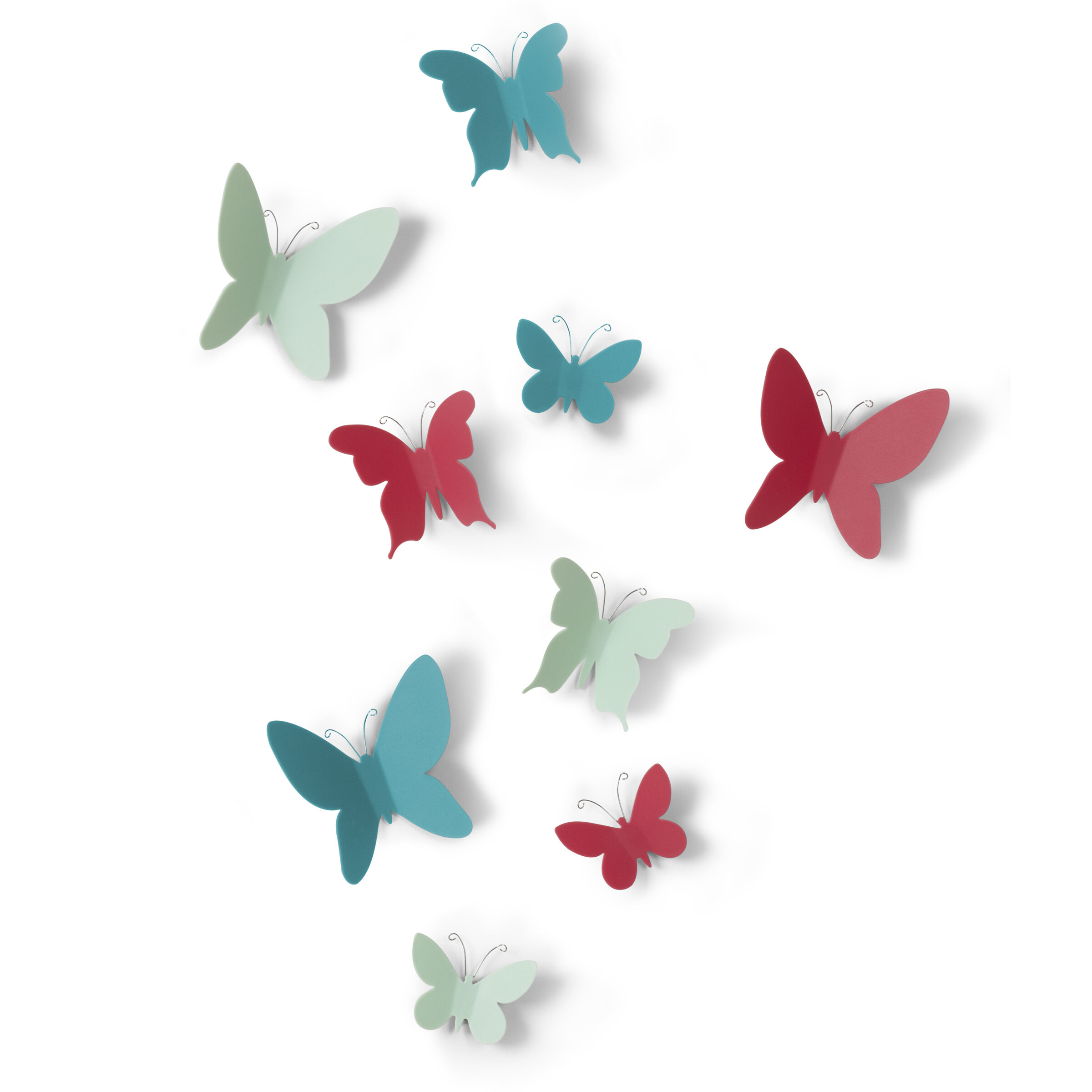 Featured Photo of Mariposa 9 Piece Wall Decor