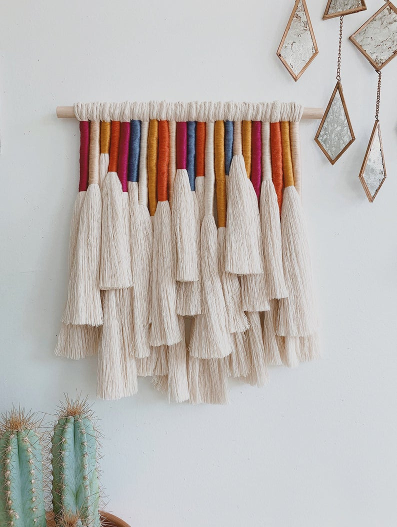 Mariposa / Macrame Wall Hanging With Regard To Mariposa 9 Piece Wall Decor (View 13 of 30)