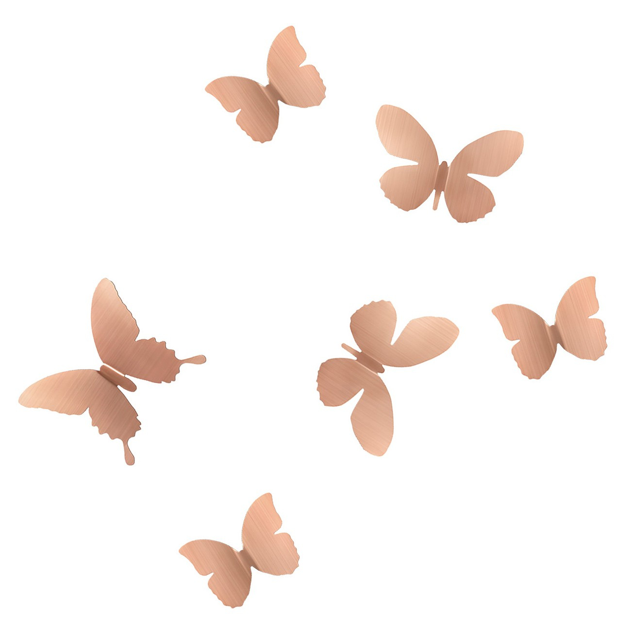 Mariposa Metal Wall Decor (Copper) – Umbra | Design Is This Intended For Mariposa 9 Piece Wall Decor (View 15 of 30)