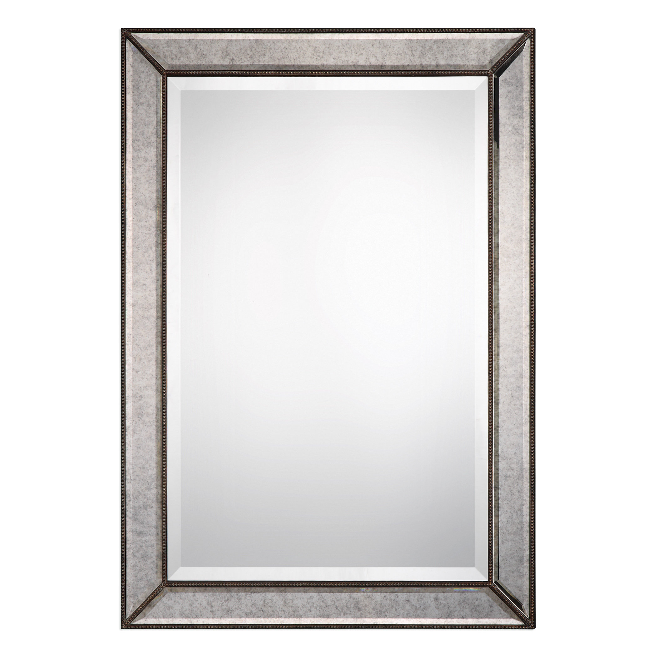 Marsha Traditional Rectangle Mdf/mirror Framed Accent Mirror In Maude Accent Mirrors (View 18 of 30)