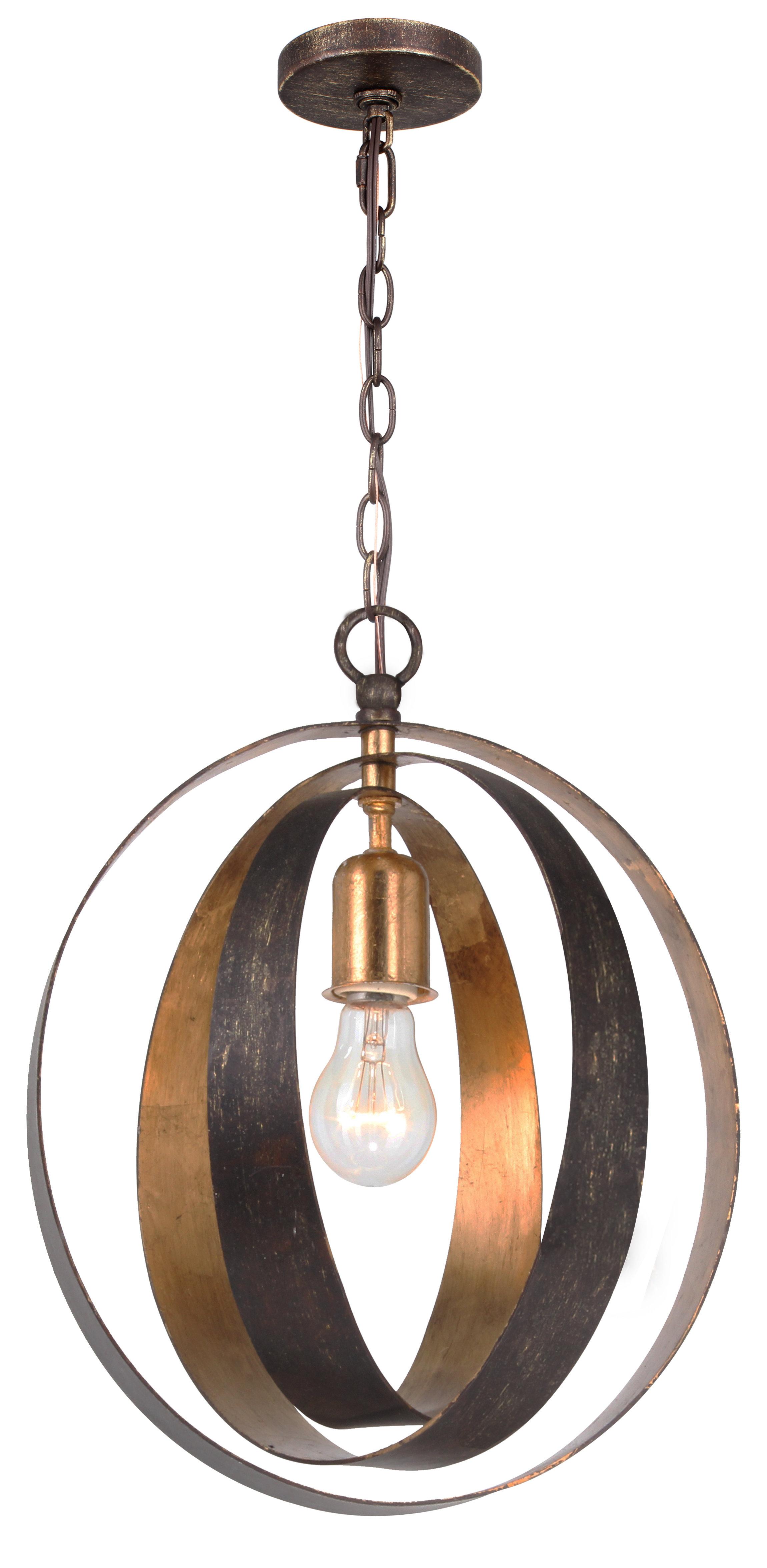 Mason 1 Light Pendant Inside Irwin 1 Light Single Globe Pendants (View 22 of 30)