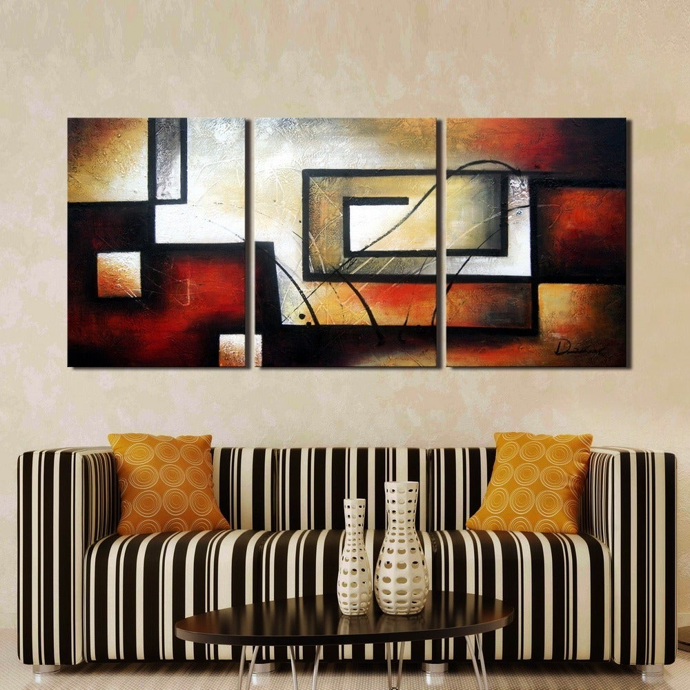 Matching Sets | Find Great Art Gallery Deals Shopping At In 3 Piece Magnolia Brown Panel Wall Decor Sets (View 24 of 30)
