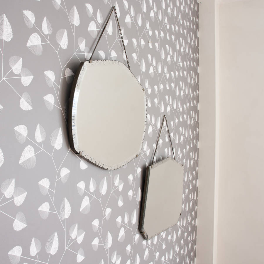 Maud Vintage Hanging Mirror Setdecorative Mirrors Online with regard to Maude Accent Mirrors (Image 17 of 30)