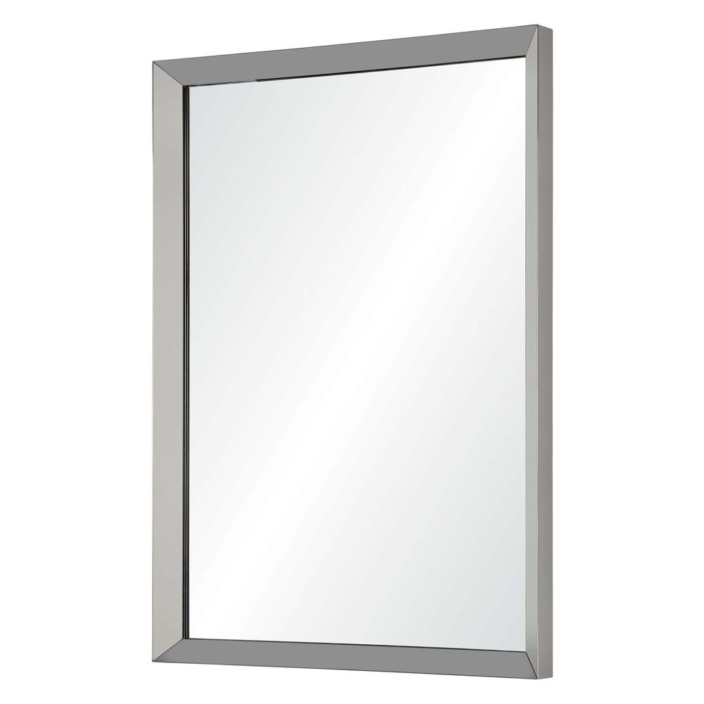 Maverick Rectangular Mirror Intended For Traditional Square Glass Wall Mirrors (View 24 of 30)