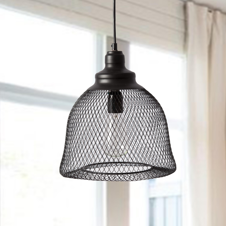 Mccandless 1 Light Single Bell Pendant With Regard To Scruggs 1 Light Geometric Pendants (View 13 of 30)