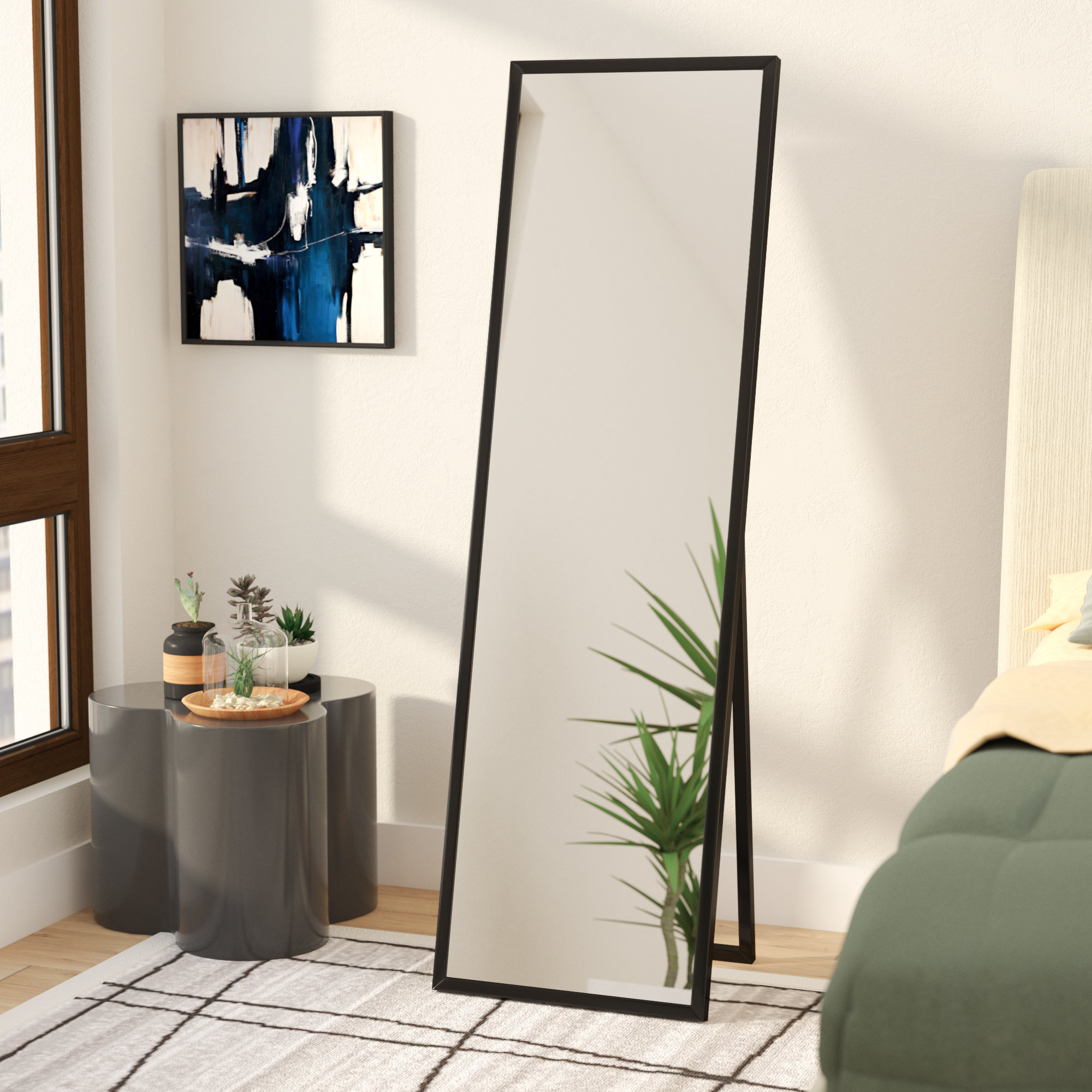 Mcgary Free Standing Floor Modern & Contemporary Full Length Mirror With Regard To Modern & Contemporary Full Length Mirrors (View 6 of 30)