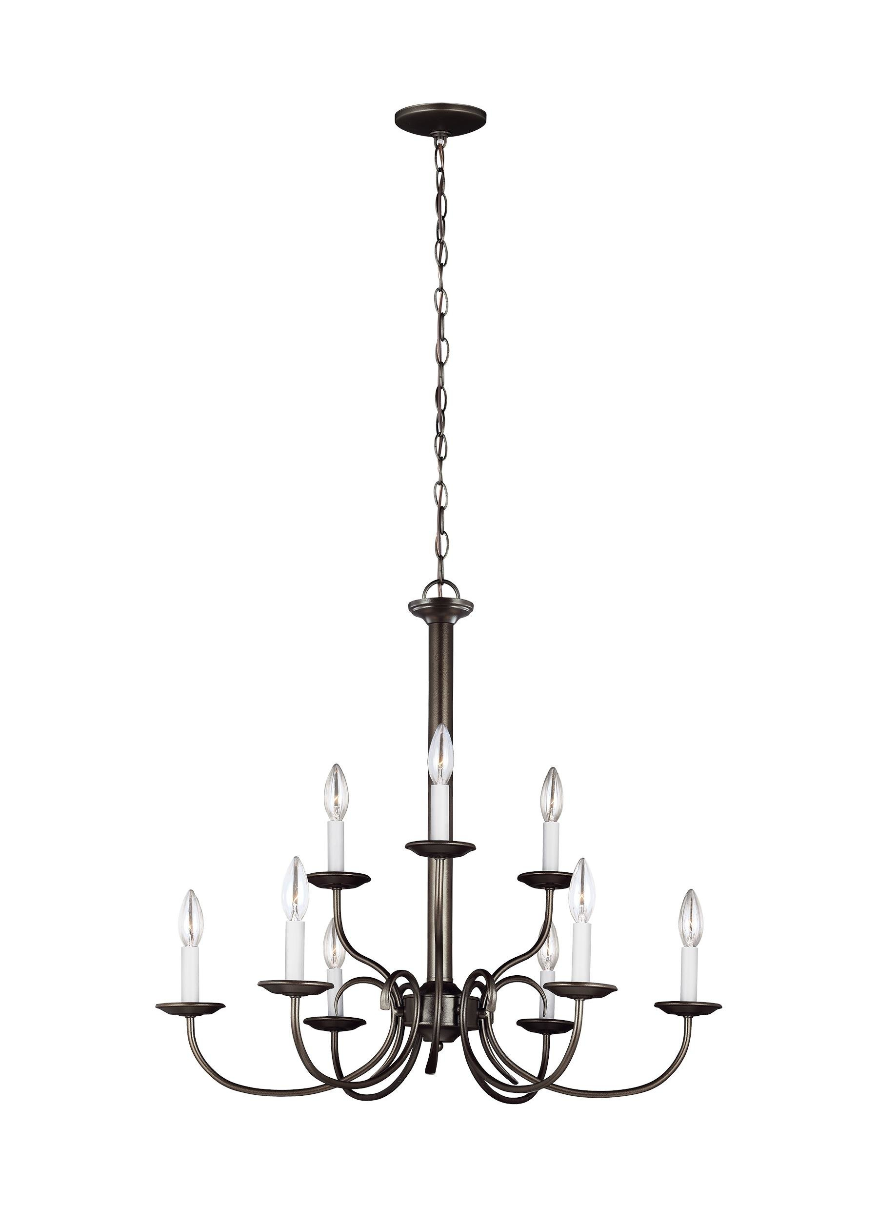 Mcknight 9 Light Chandelier | Wayfair within Mcknight 9-Light Chandeliers (Image 21 of 30)