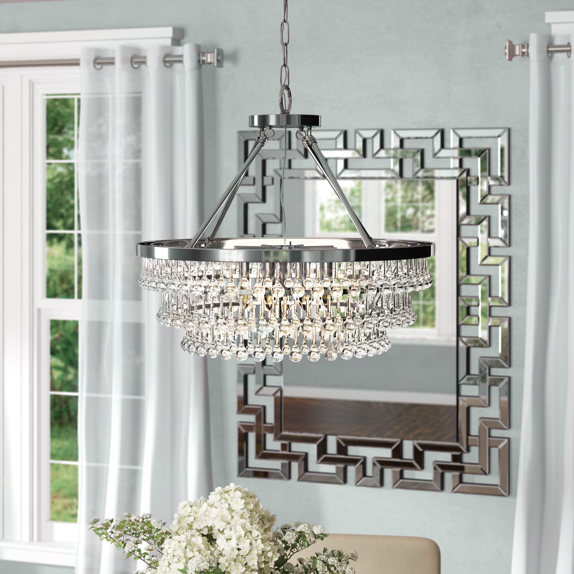 Featured Photo of Mcknight 9 Light Chandeliers