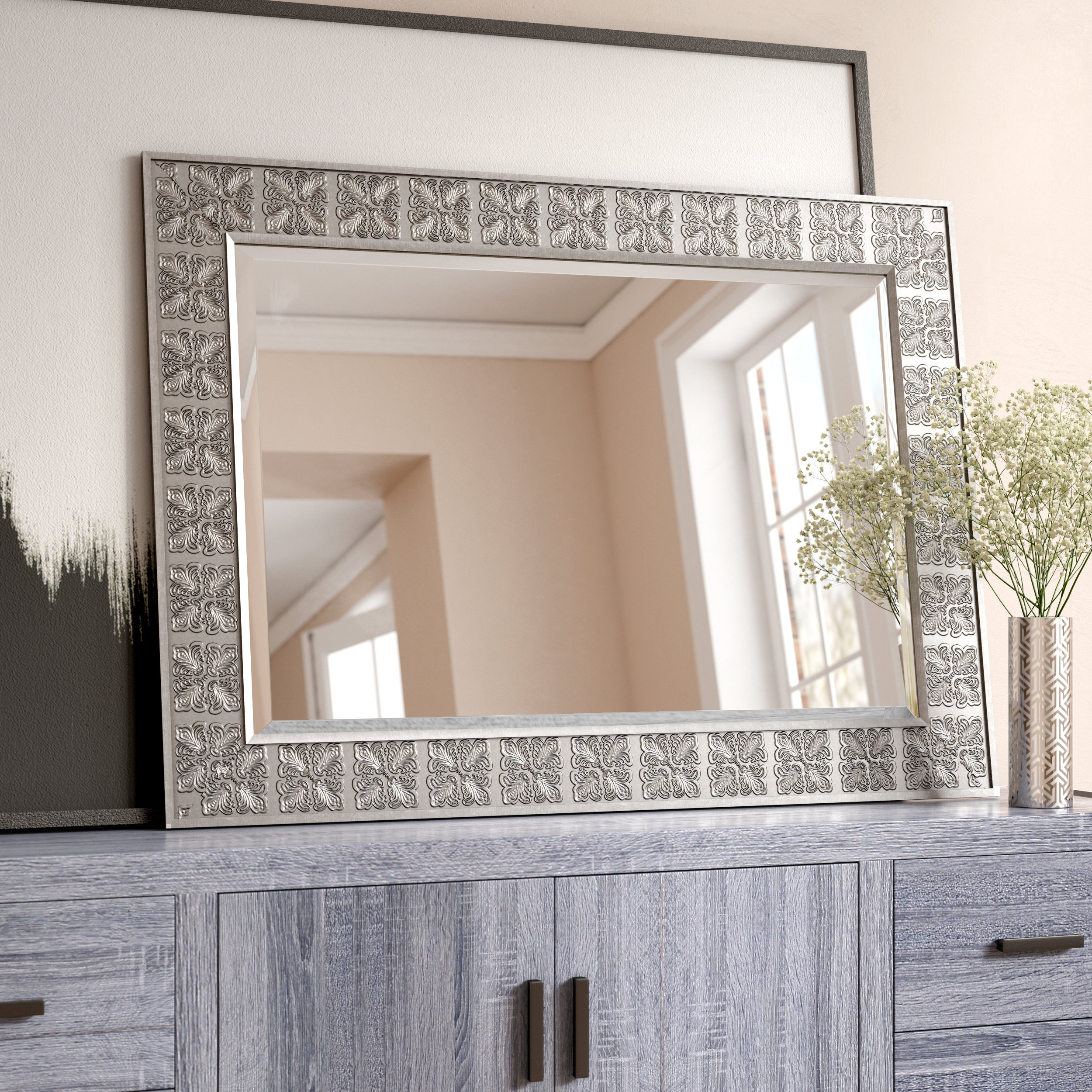 Medallion Accent Mirror Regarding Medallion Accent Mirrors (View 20 of 30)