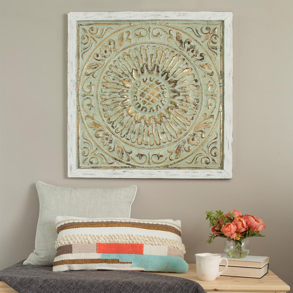 Medallion Wall Decor - Home Decorating Ideas pertaining to Shabby Medallion Wall Decor (Image 11 of 30)