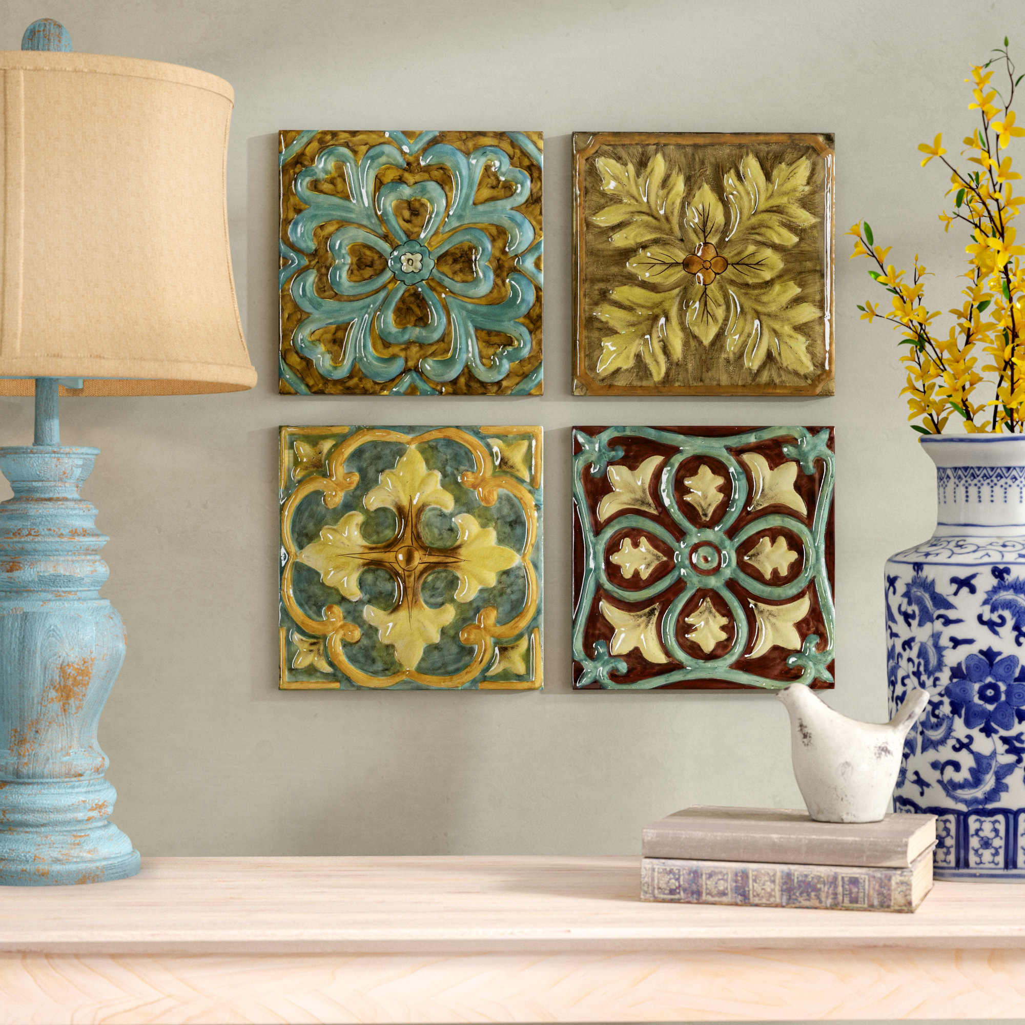 Medallion Wall Decor | Wayfair in Small Medallion Wall Decor (Image 10 of 30)