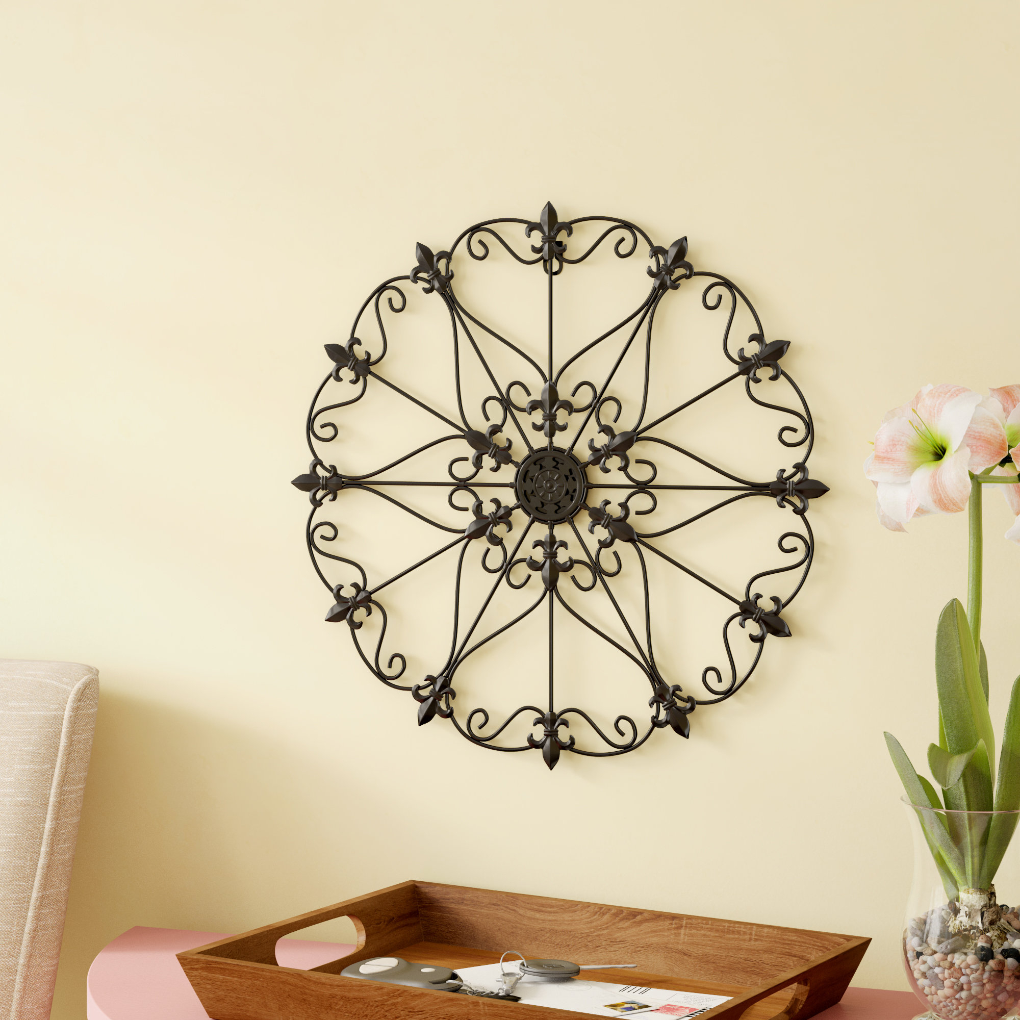 Medallion Wall Decor | Wayfair with regard to Small Medallion Wall Decor (Image 14 of 30)