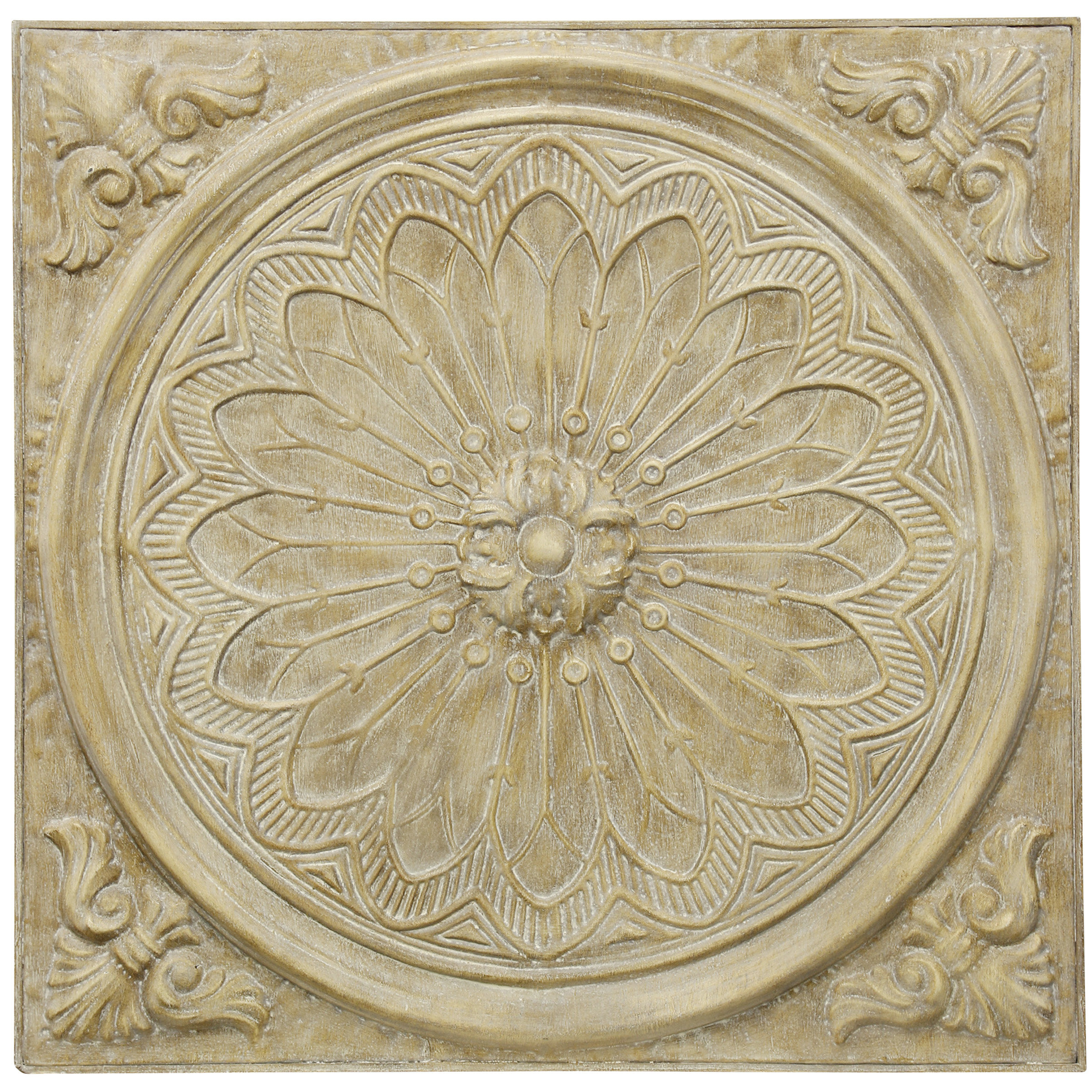 Medallion Wall Decor | Wayfair within Small Medallion Wall Decor (Image 15 of 30)