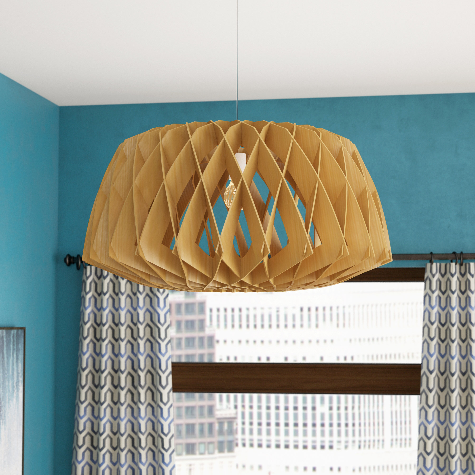 Featured Photo of Melora 1 Light Single Geometric Pendants