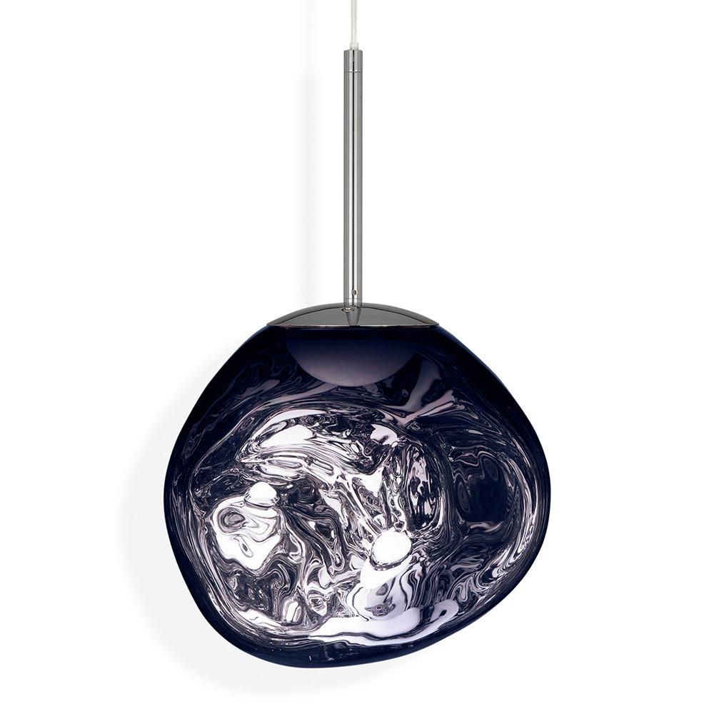 Melt Mini Led Pendant Light - Smoke intended for Amara 2-Light Dome Pendants (Image 21 of 30)