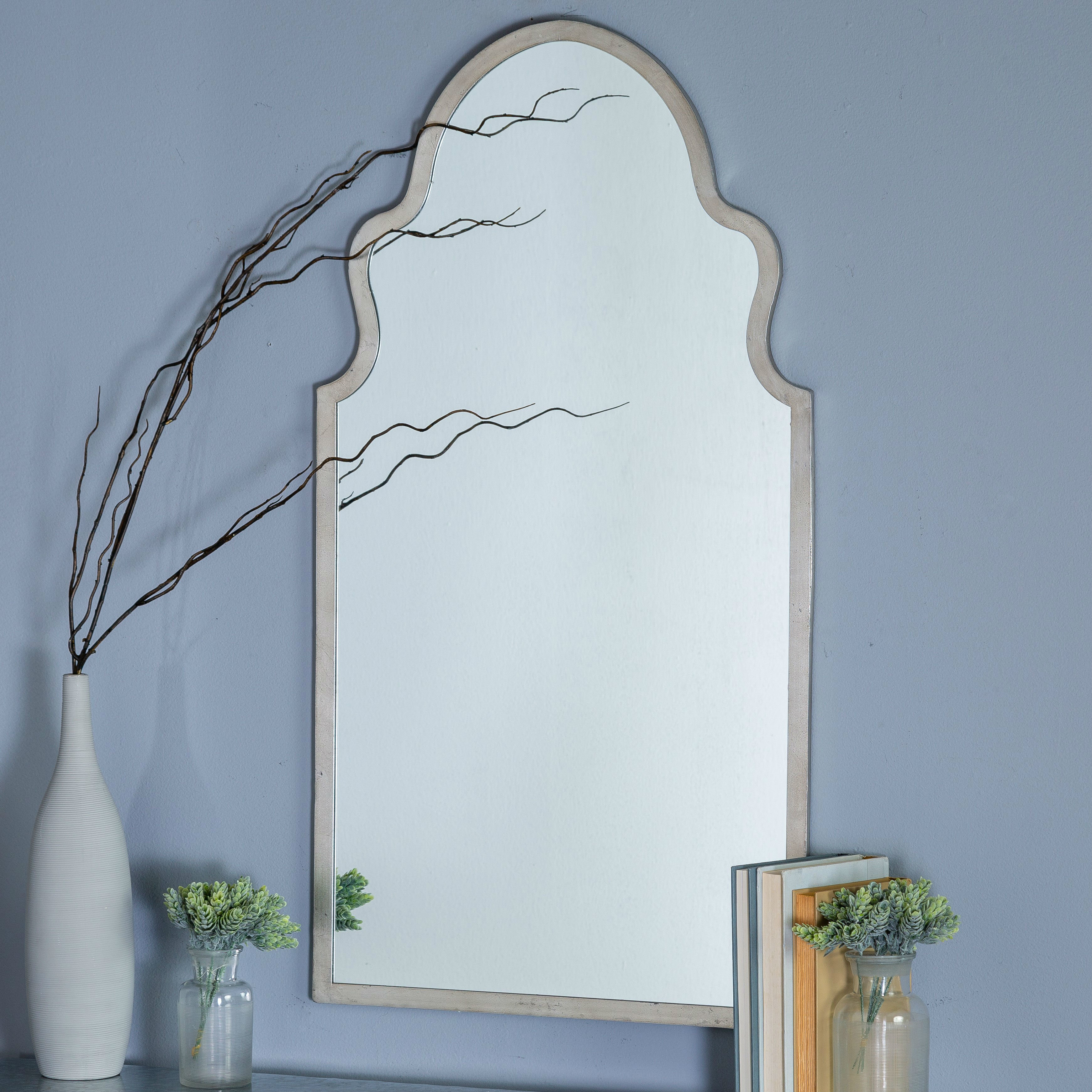 Menachem Modern & Contemporary Accent Mirror For Fifi Contemporary Arch Wall Mirrors (View 18 of 30)
