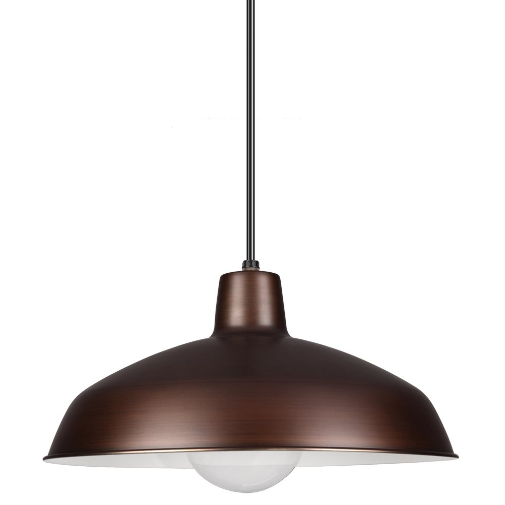 Mendelson 1-Light Dome Pendant with Conover 1-Light Dome Pendants (Image 22 of 30)