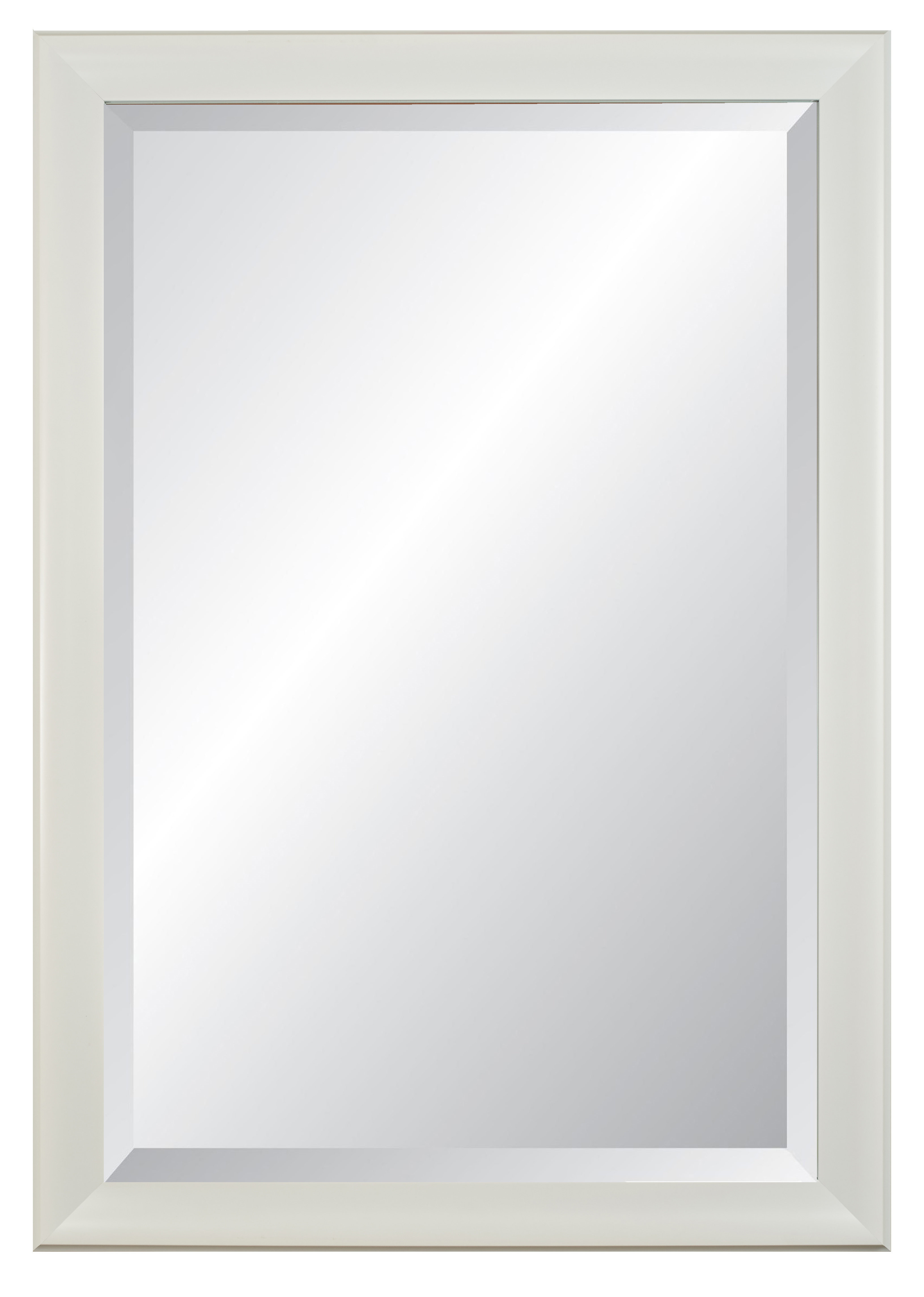 Mercury Glass Framed Mirror | Wayfair With Caja Rectangle Glass Frame Wall Mirrors (View 16 of 30)
