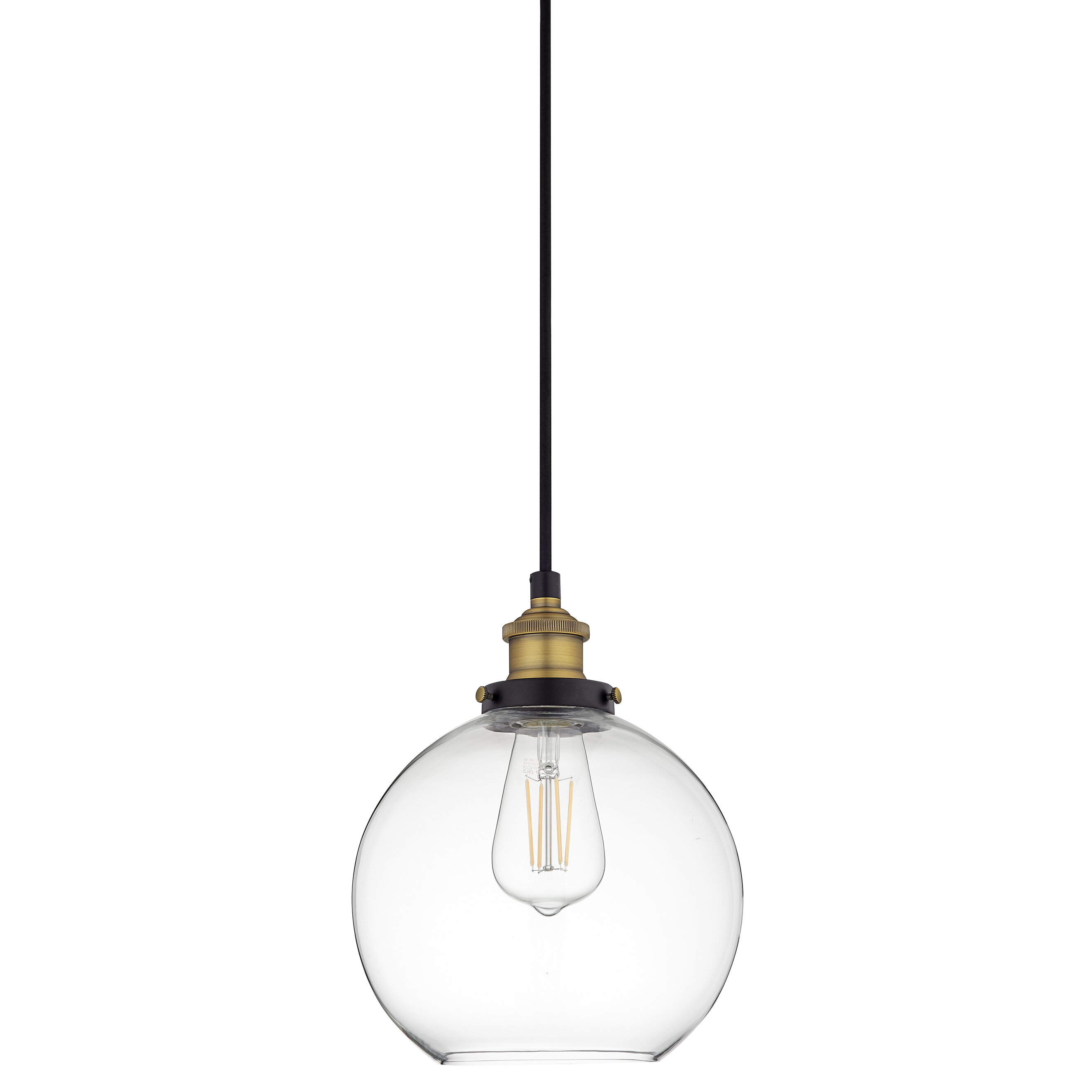 Mercury Row Bundy 1 Light Single Globe Pendant In Devereaux 1 Light Single Globe Pendants (View 15 of 30)