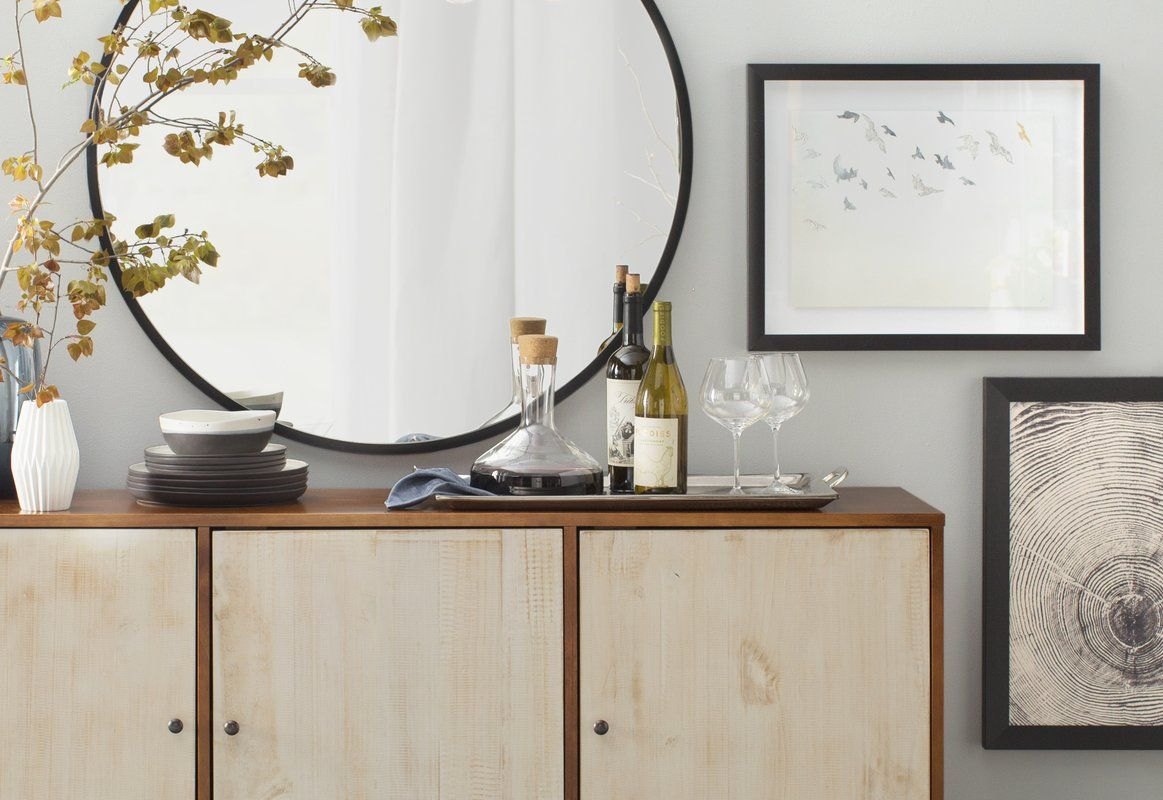 Mercury Row Colton Wall Mirror | Home Renovation | Wall pertaining to Colton Modern & Contemporary Wall Mirrors (Image 25 of 30)