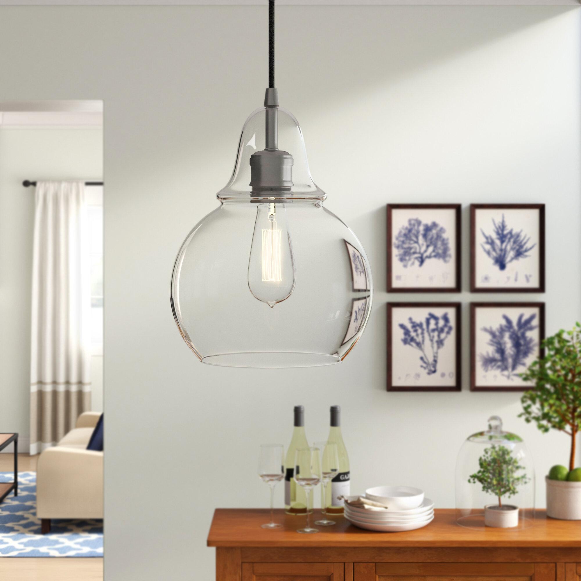 Mercury Row Conard 1 Light Single Bell Pendant Pertaining To Akakios 1 Light Single Bell Pendants (Image 24 of 30)