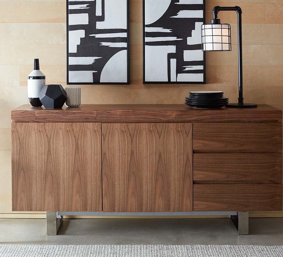 Mercury Row Harbaugh Sideboard with Stillwater Sideboards (Image 16 of 30)