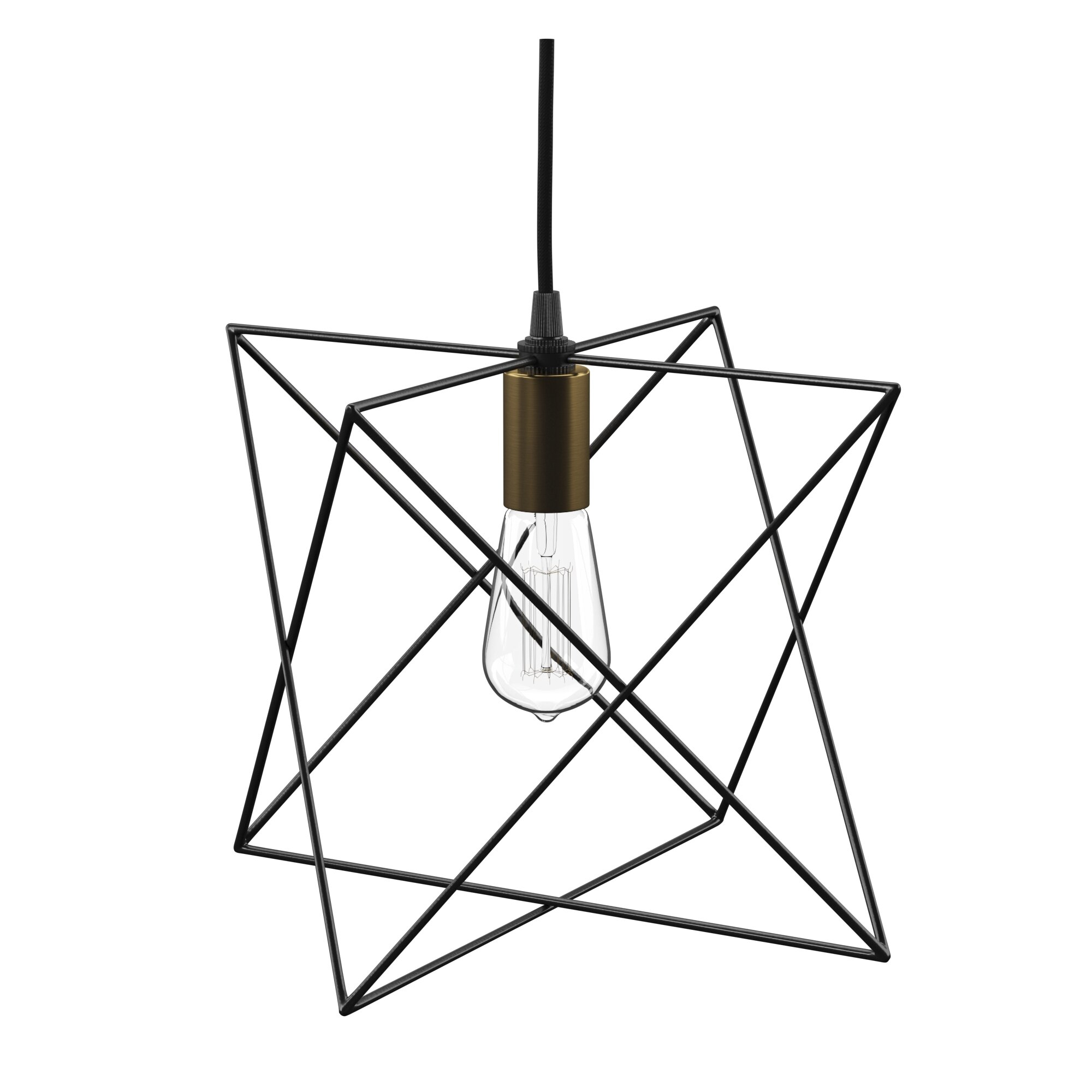 Mercury Row Quiros 1 Light Geometric Pendant Pertaining To Hydetown 1 Light Single Geometric Pendants (View 13 of 30)