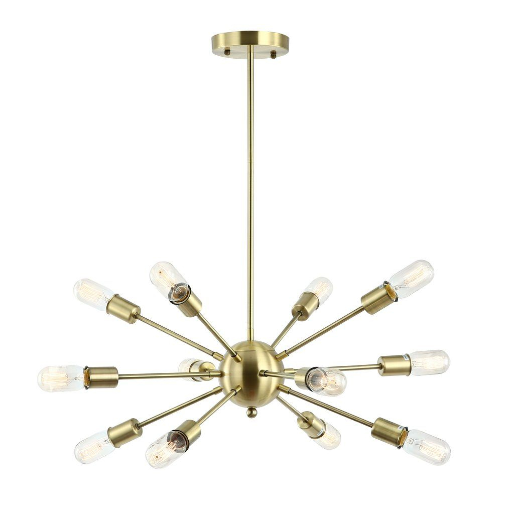 Meridia Sputnik Style 12 Light Chandelier In 2019 | Kitchen With Regard To Vroman 12 Light Sputnik Chandeliers (View 6 of 30)